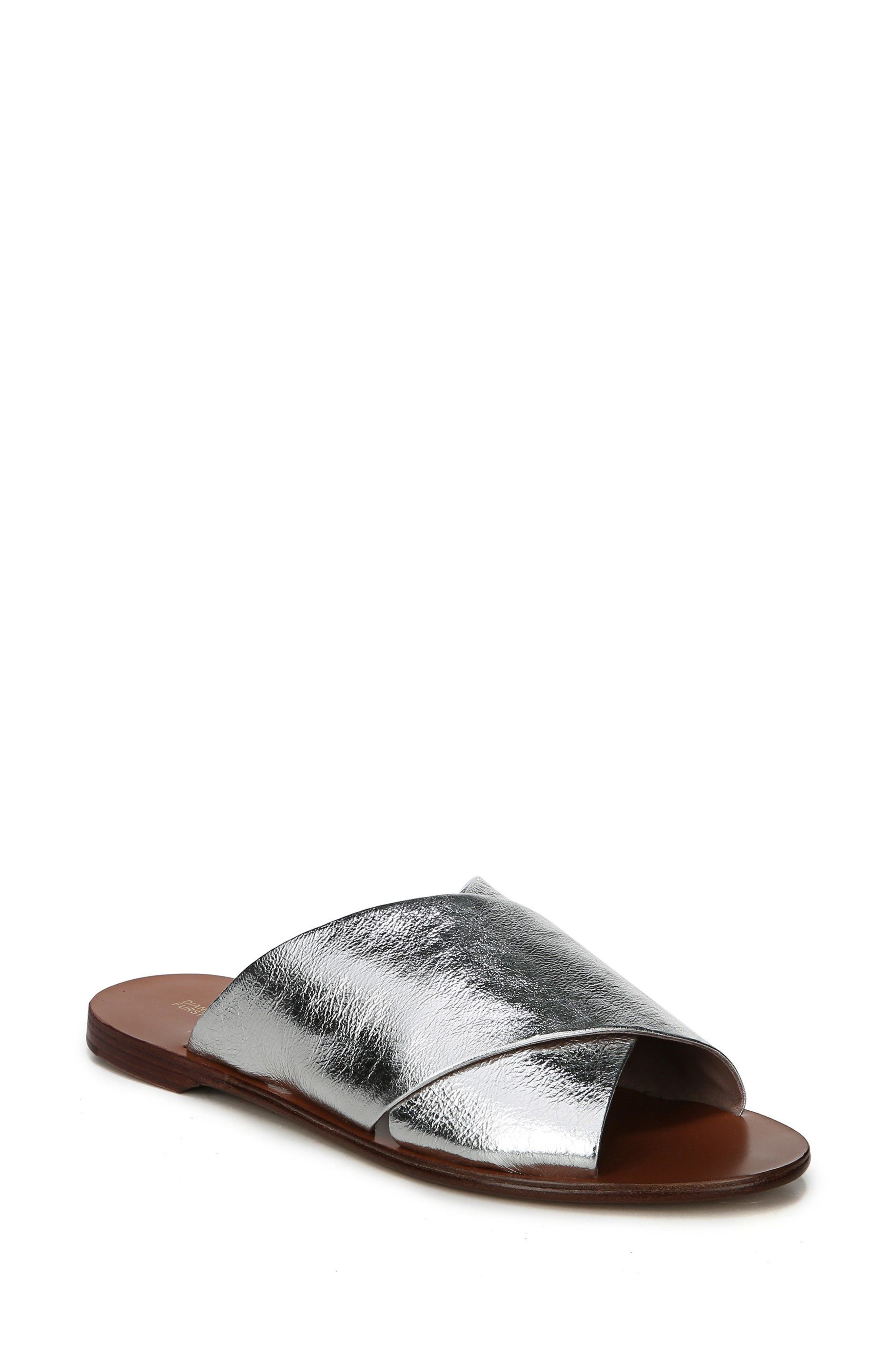 Bailie Sandal,                             Main thumbnail 1, color,                             Silver Leather