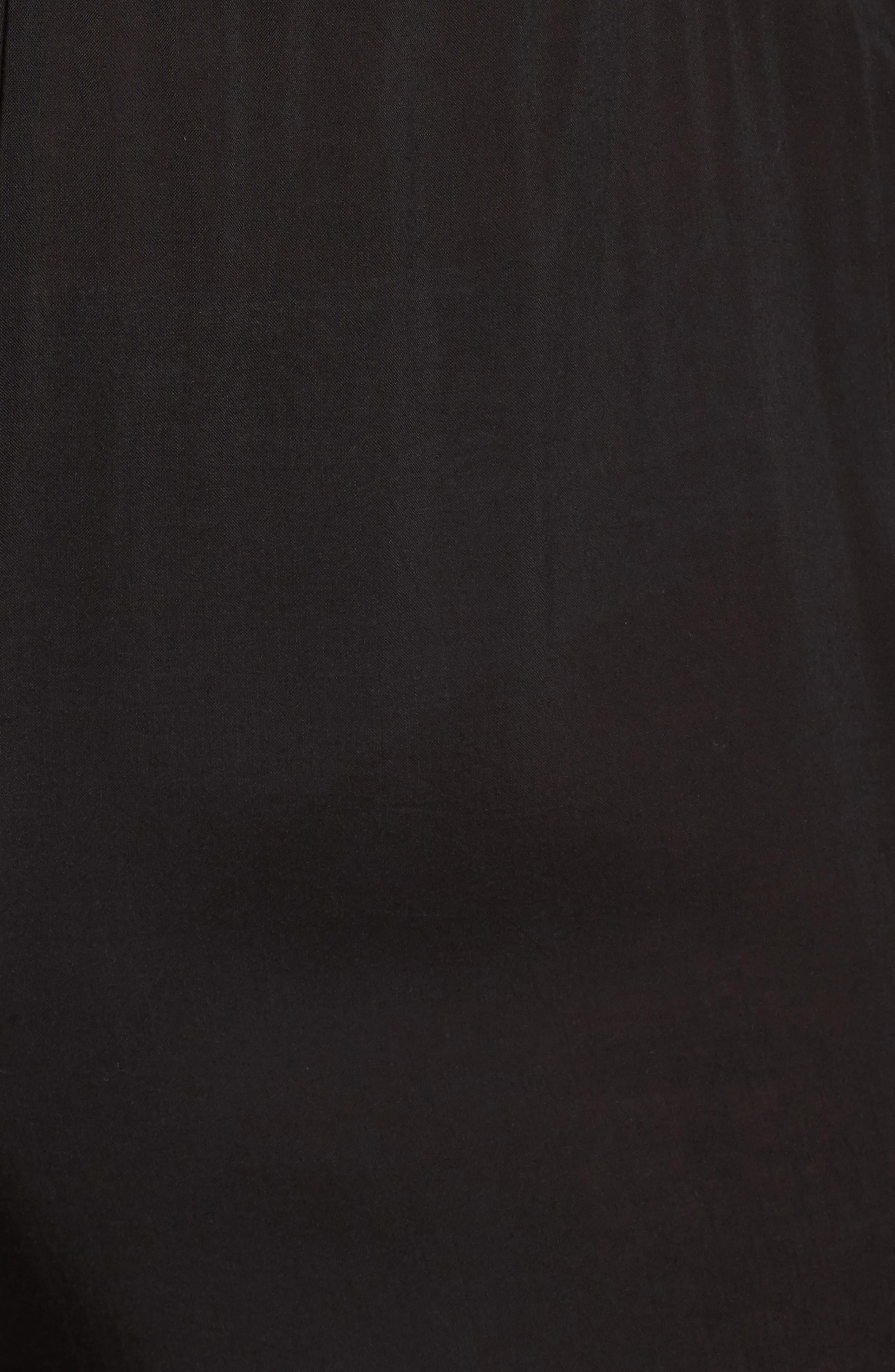 Alternate Image 5  - Elan Off the Shoulder Cover-Up Jumpsuit (Plus Size)
