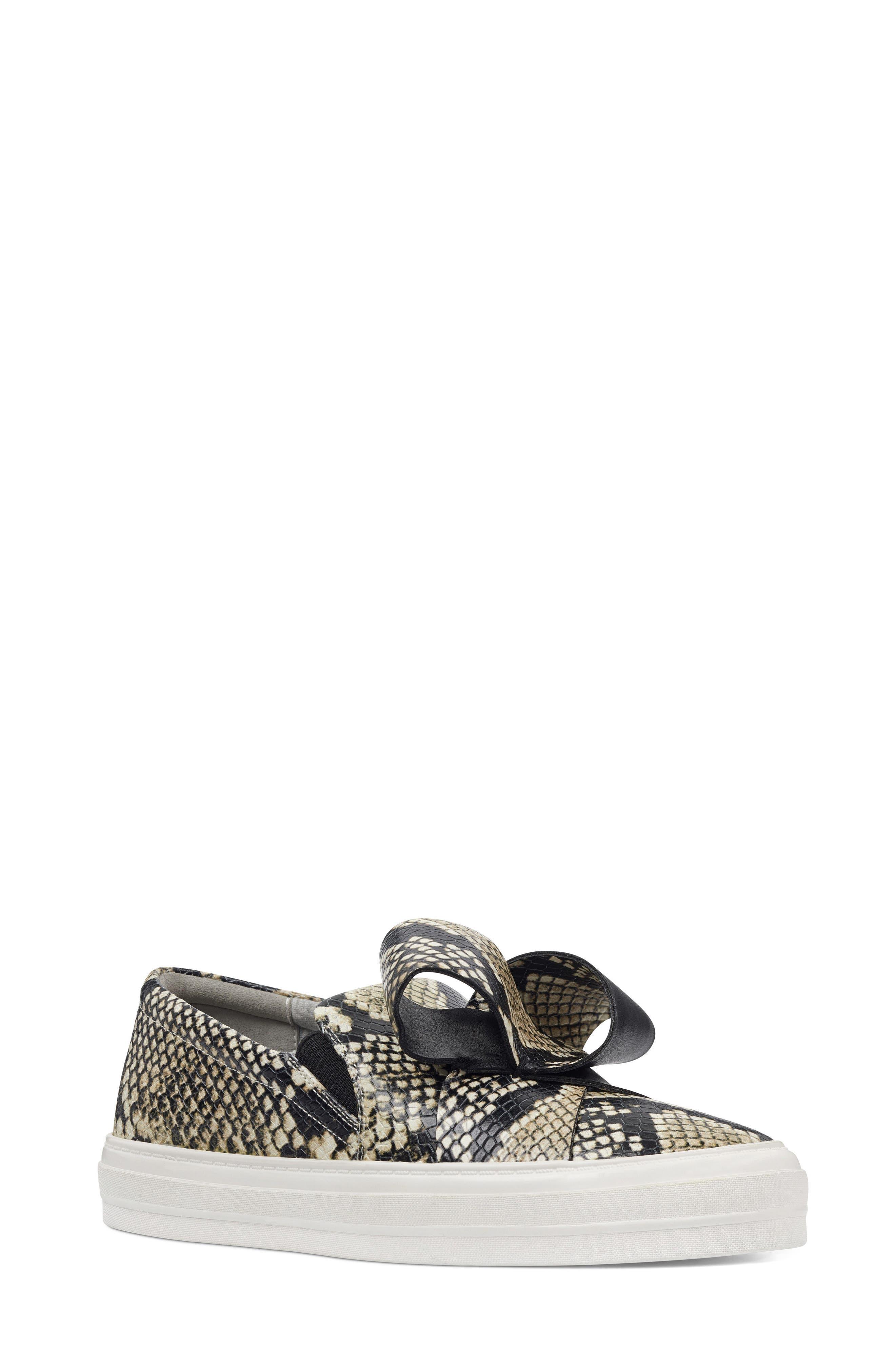 Odienella Slip-On Sneaker,                             Main thumbnail 1, color,                             Off White Multi Leather