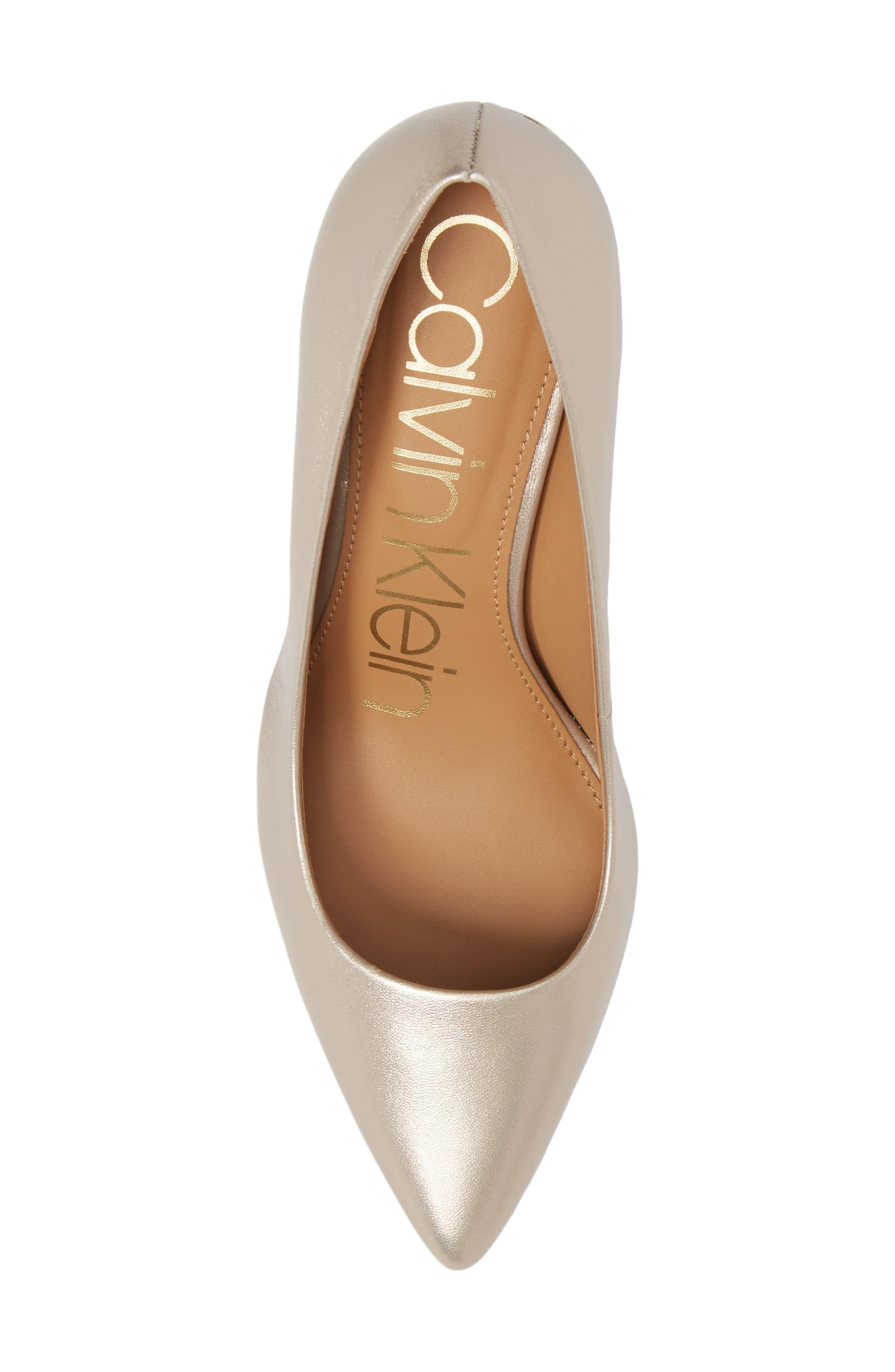 Alternate Image 5  - Calvin Klein 'Gayle' Pointy Toe Pump (Women)