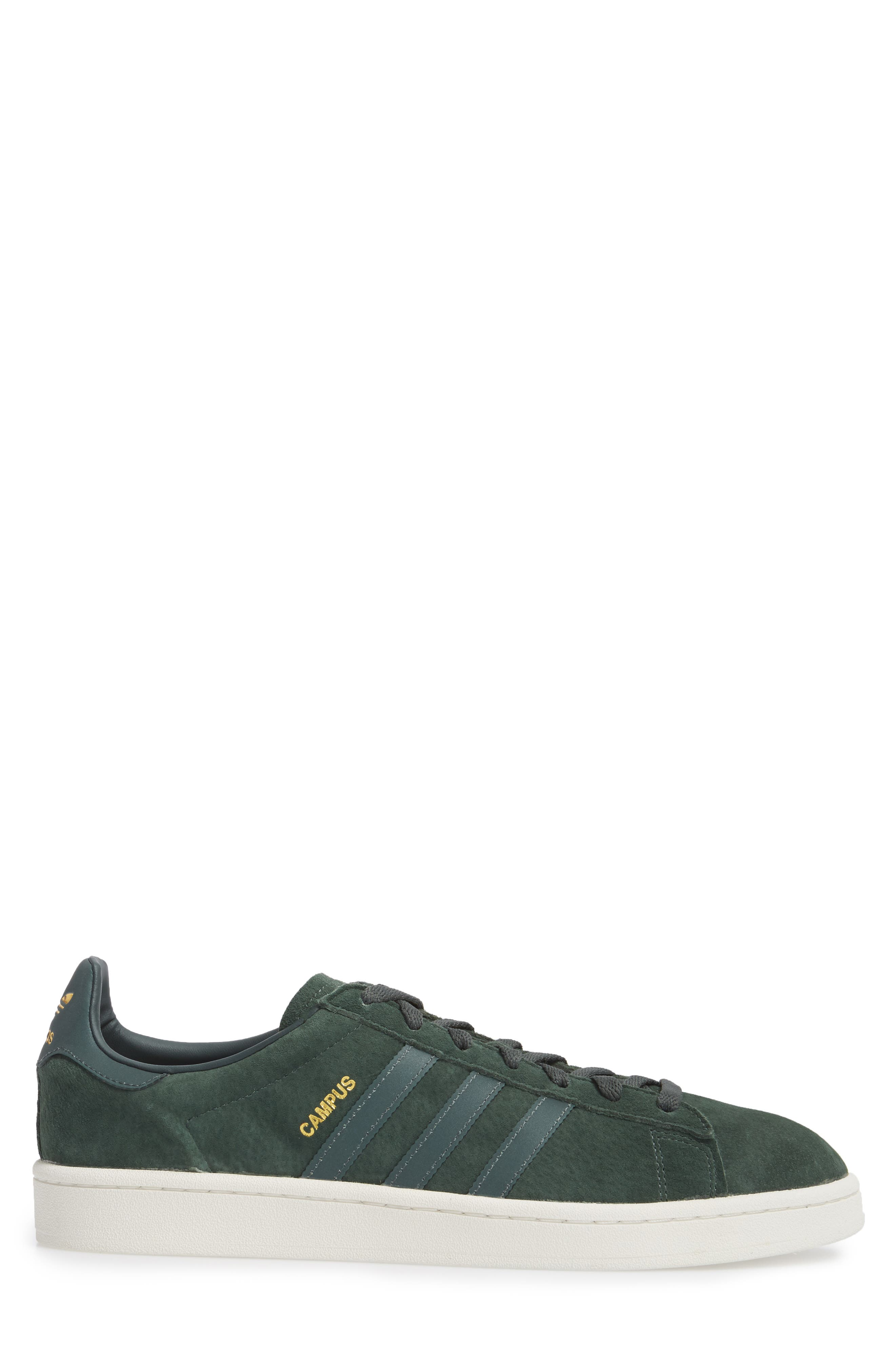 Campus Sneaker,                             Alternate thumbnail 3, color,                             Utility Ivy/ Reflective/ Gold
