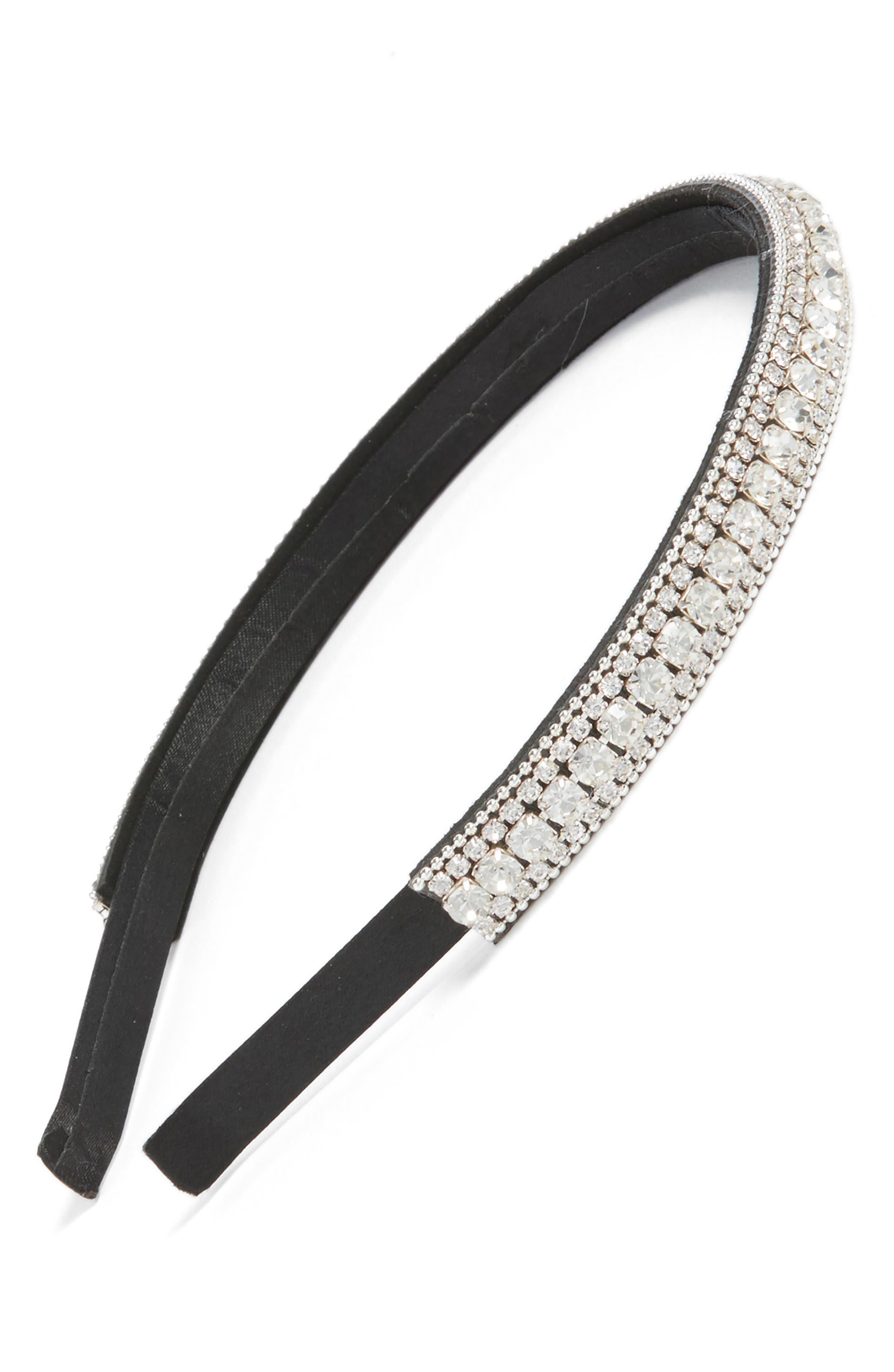 Tasha Rock Crystal Headband
