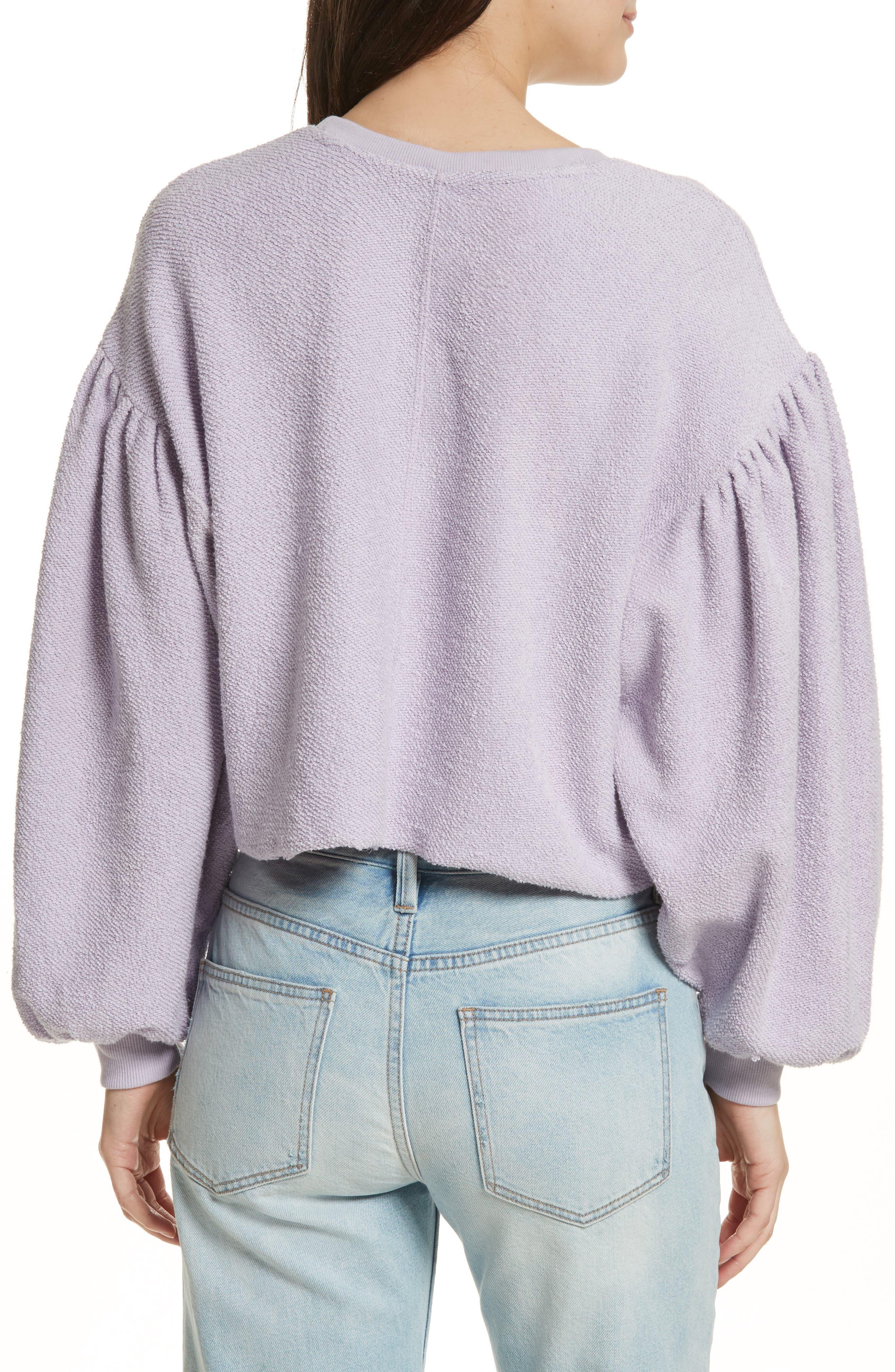 Alternate Image 2  - Free People Sleeves like These Sweater