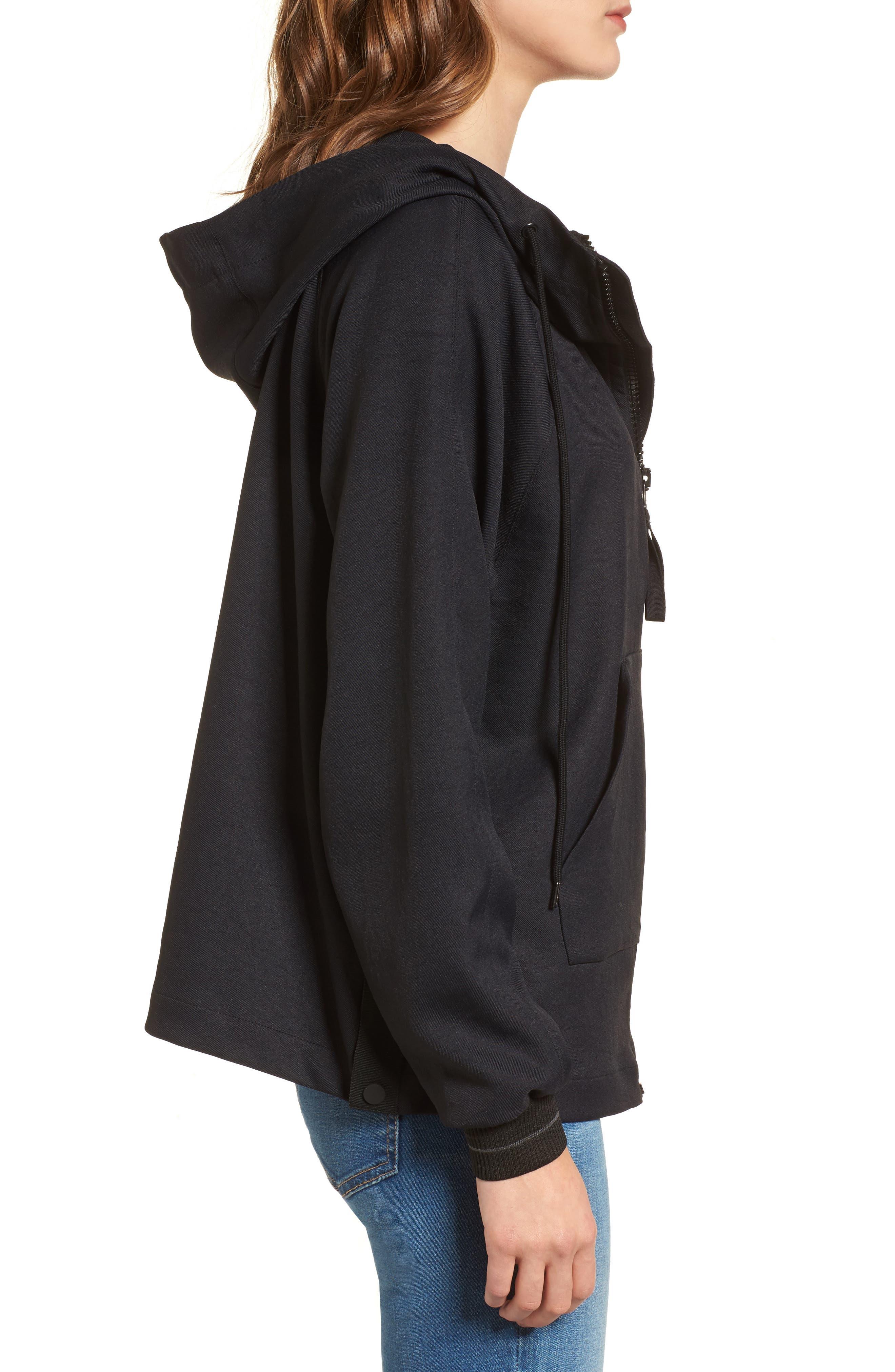 Alternate Image 3  - James Perse Side Snap Jacket