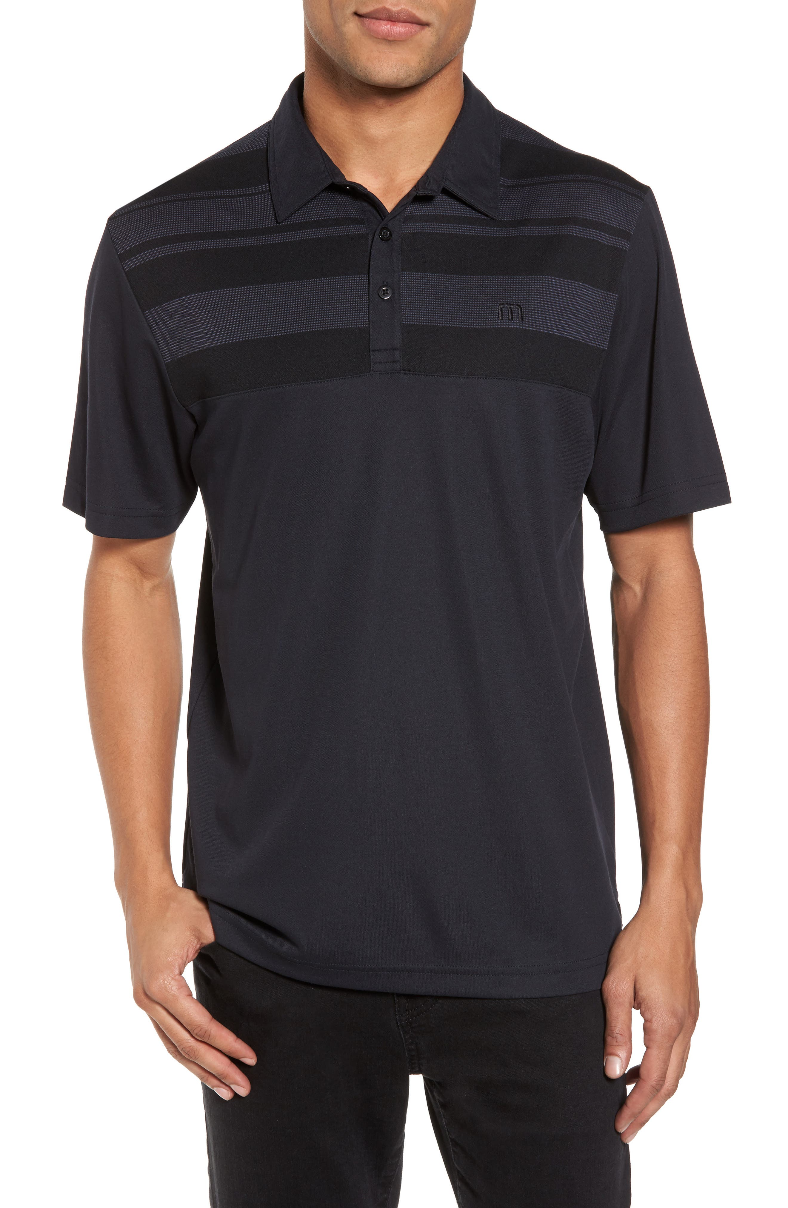 Main Image - Travis Mathew Sweet Teets Jacquard Detail Polo