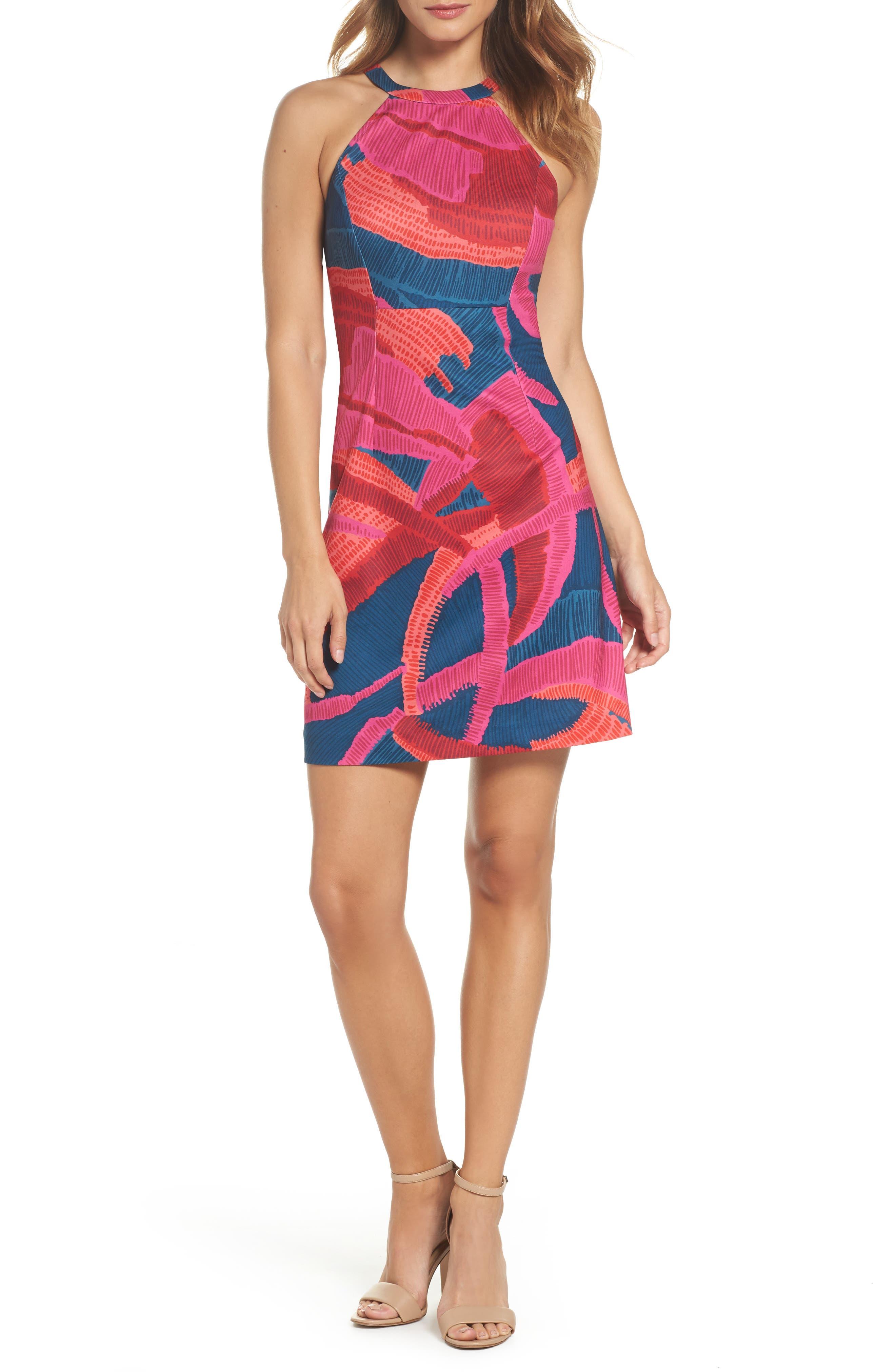 Main Image - trina Trina Turk El Rapido Dress