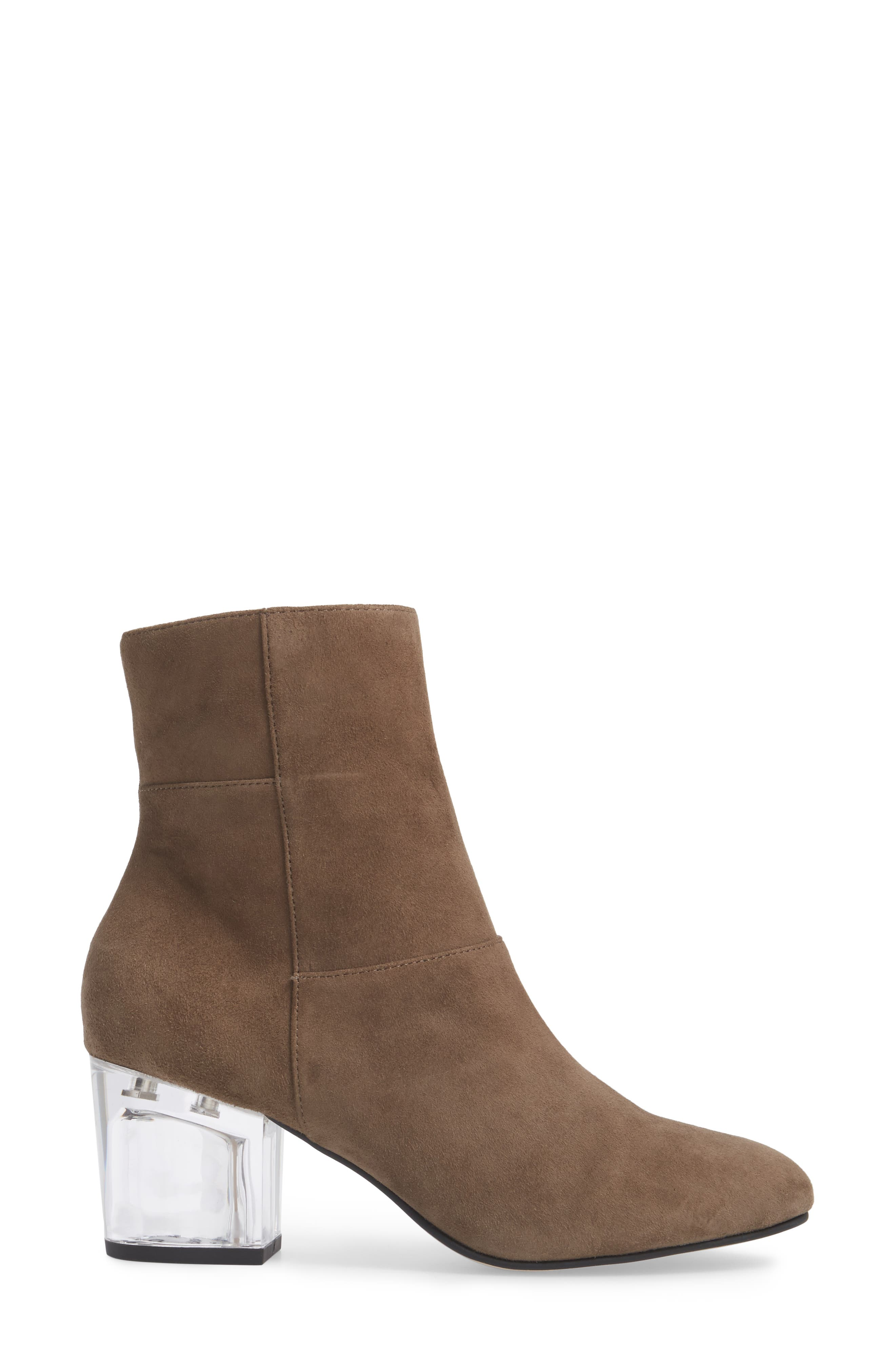 Dinah Bootie,                             Alternate thumbnail 3, color,                             Night Taupe