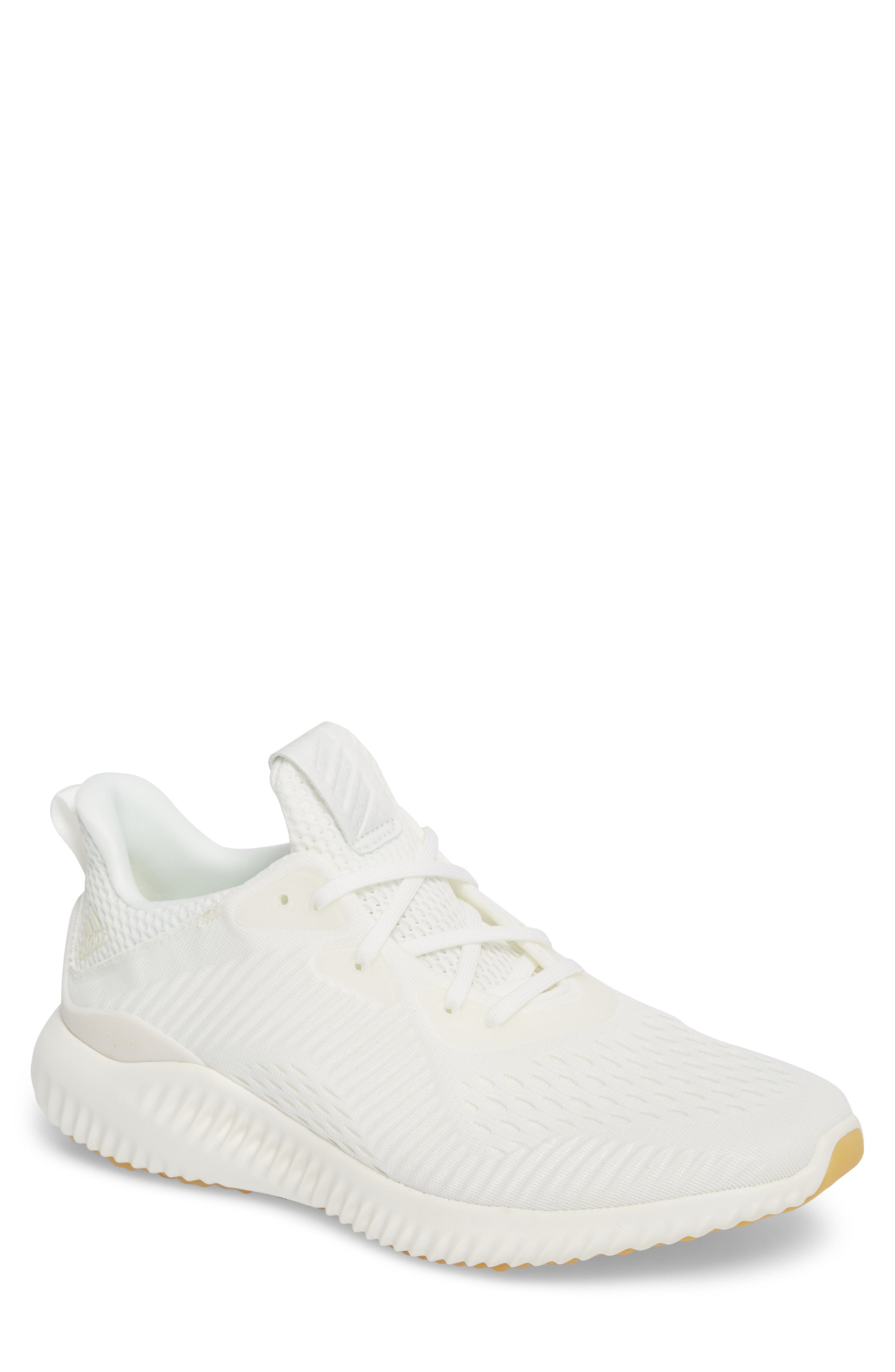 AlphaBounce EM Undye Running Shoe,                         Main,                         color, Non Dyed/ Grey