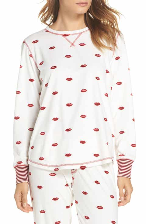 PJ Salvage Lip Print Tee