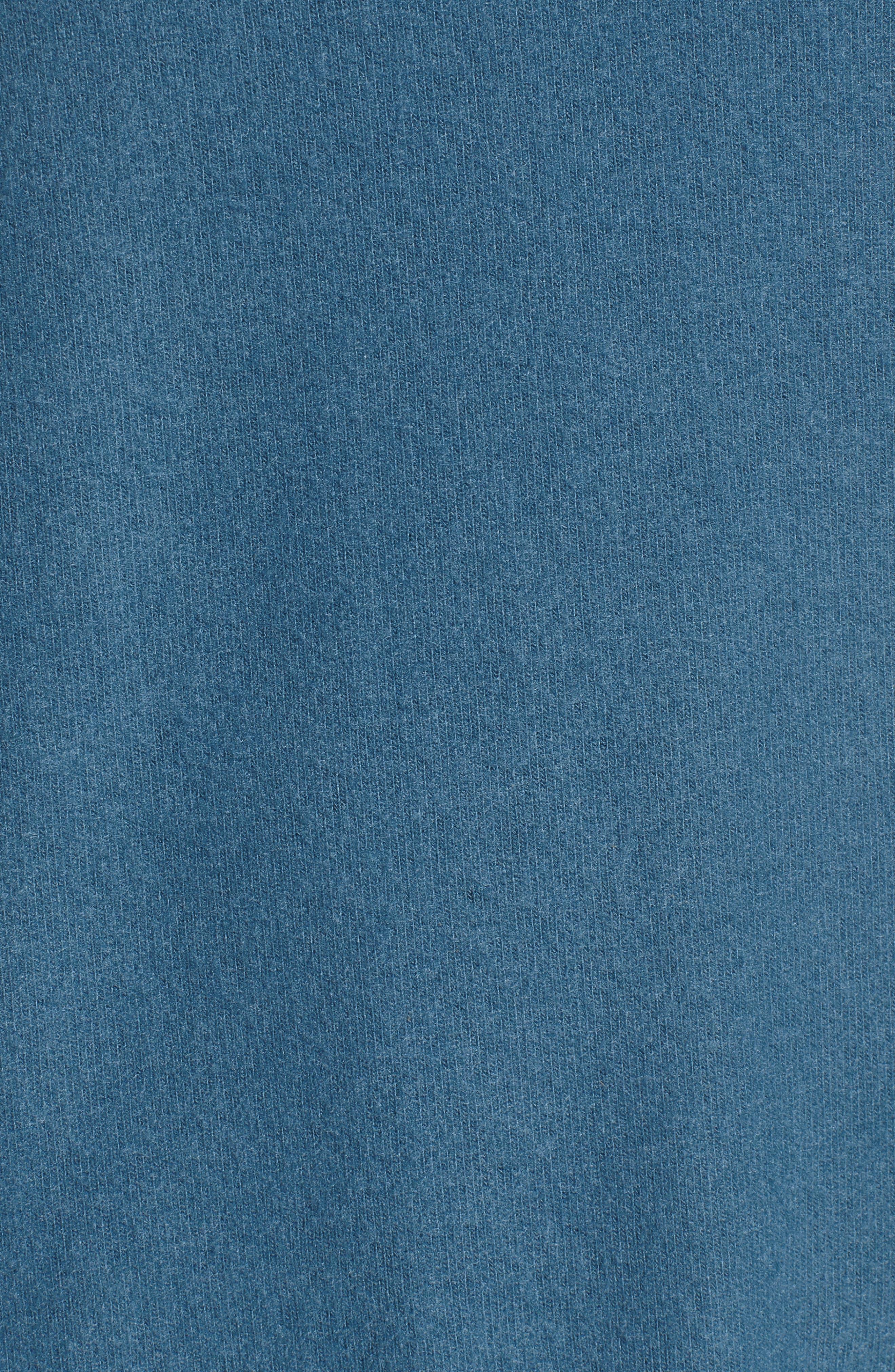 V-Neck Pullover,                             Alternate thumbnail 5, color,                             Navy Medieval
