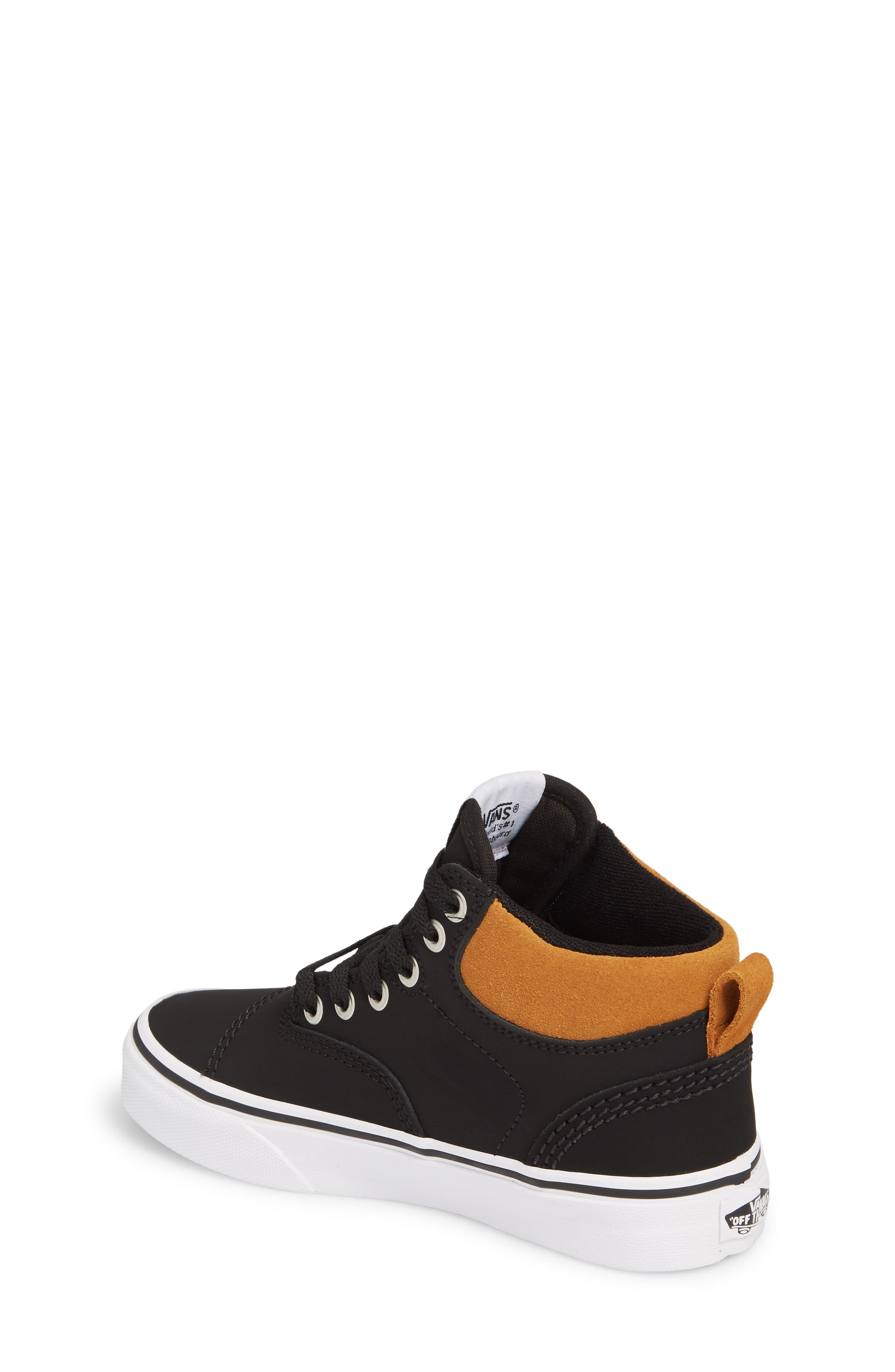 Era - Hi Sneaker,                             Alternate thumbnail 2, color,                             Vansbuck Black/ Cathay Spice