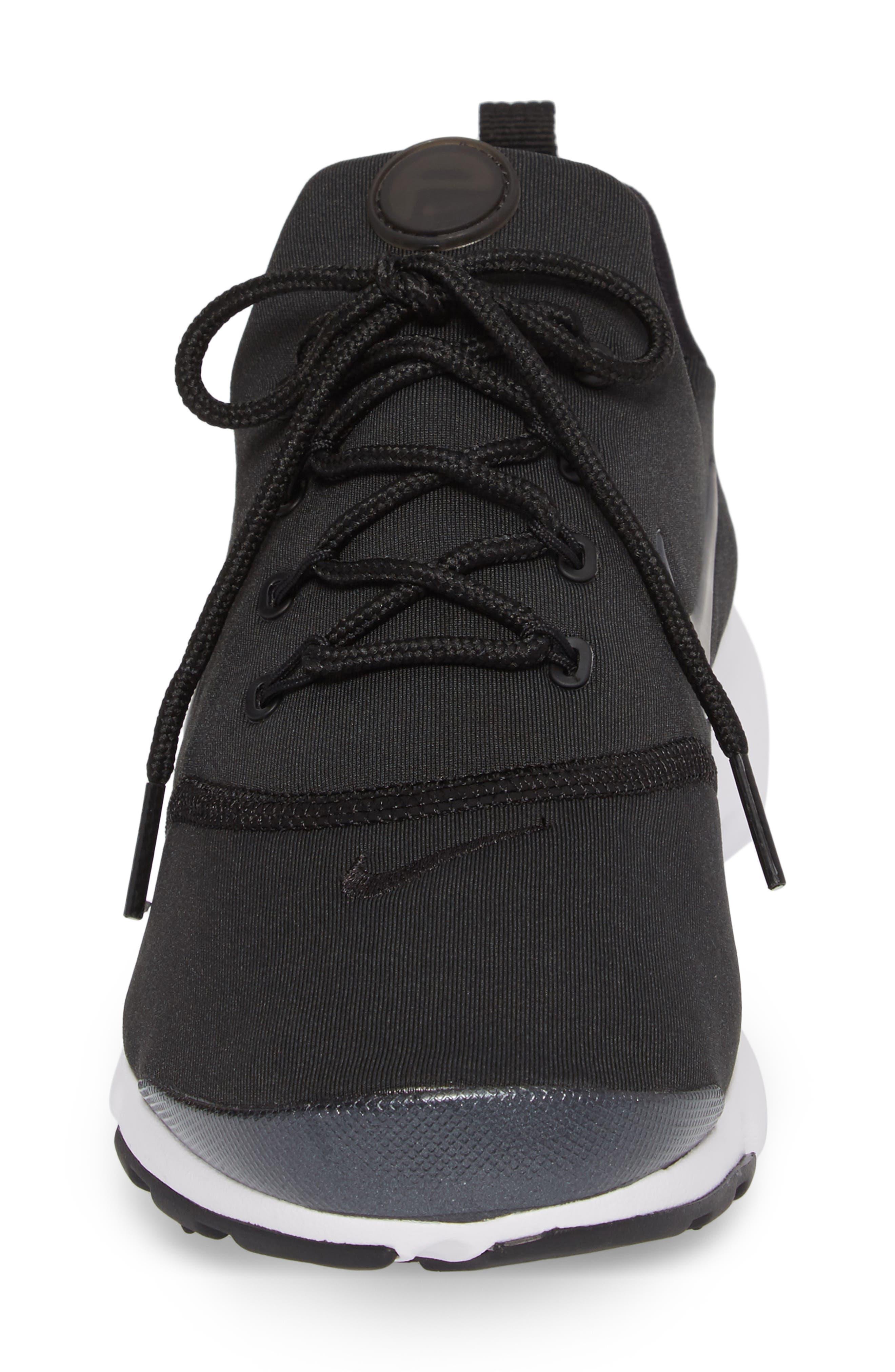 Presto Ultra SE Sneaker,                             Alternate thumbnail 5, color,                             Black/ Grey/ White