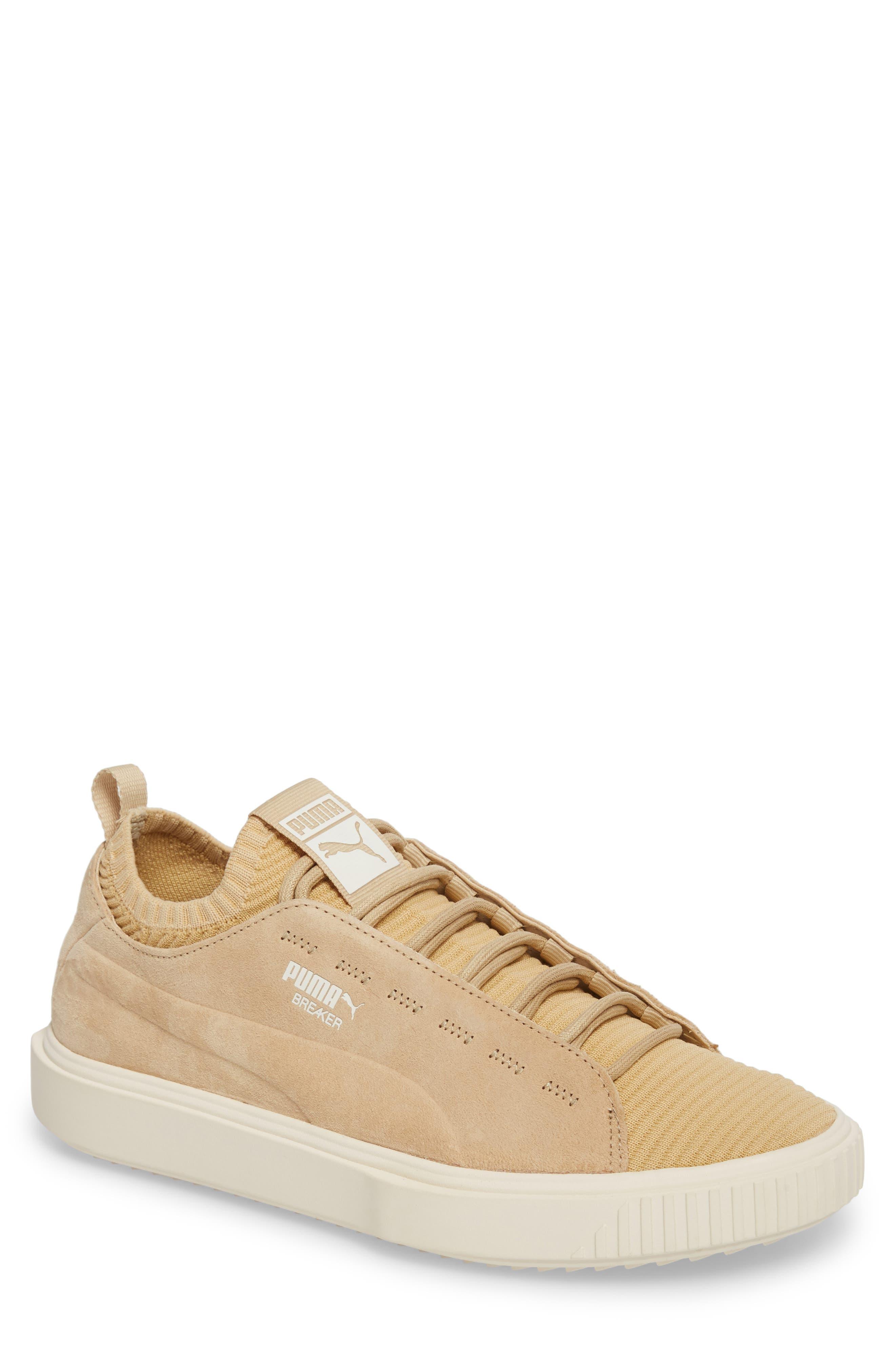 PUMA Breaker Knit Sunfaded Sneaker (Men)