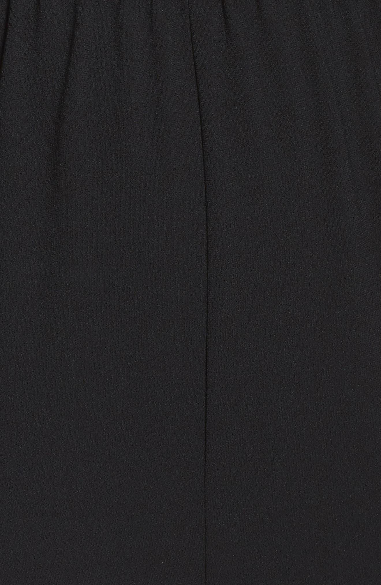 Le Boulevard One-Shoulder Jumpsuit,                             Alternate thumbnail 6, color,                             Black