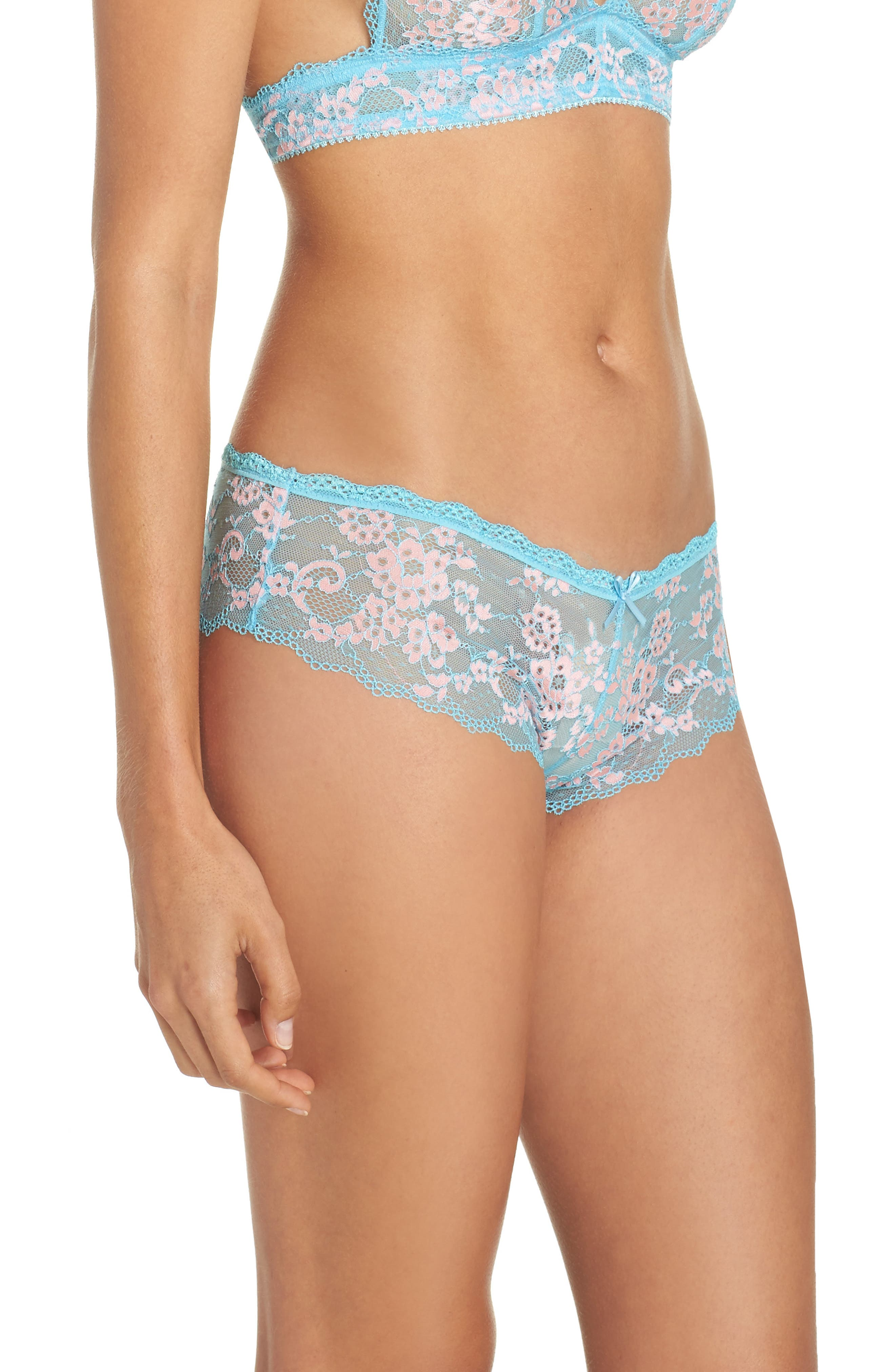 Alternate Image 3  - Honeydew Intimates Camellia Hipster Briefs (3 for $33)