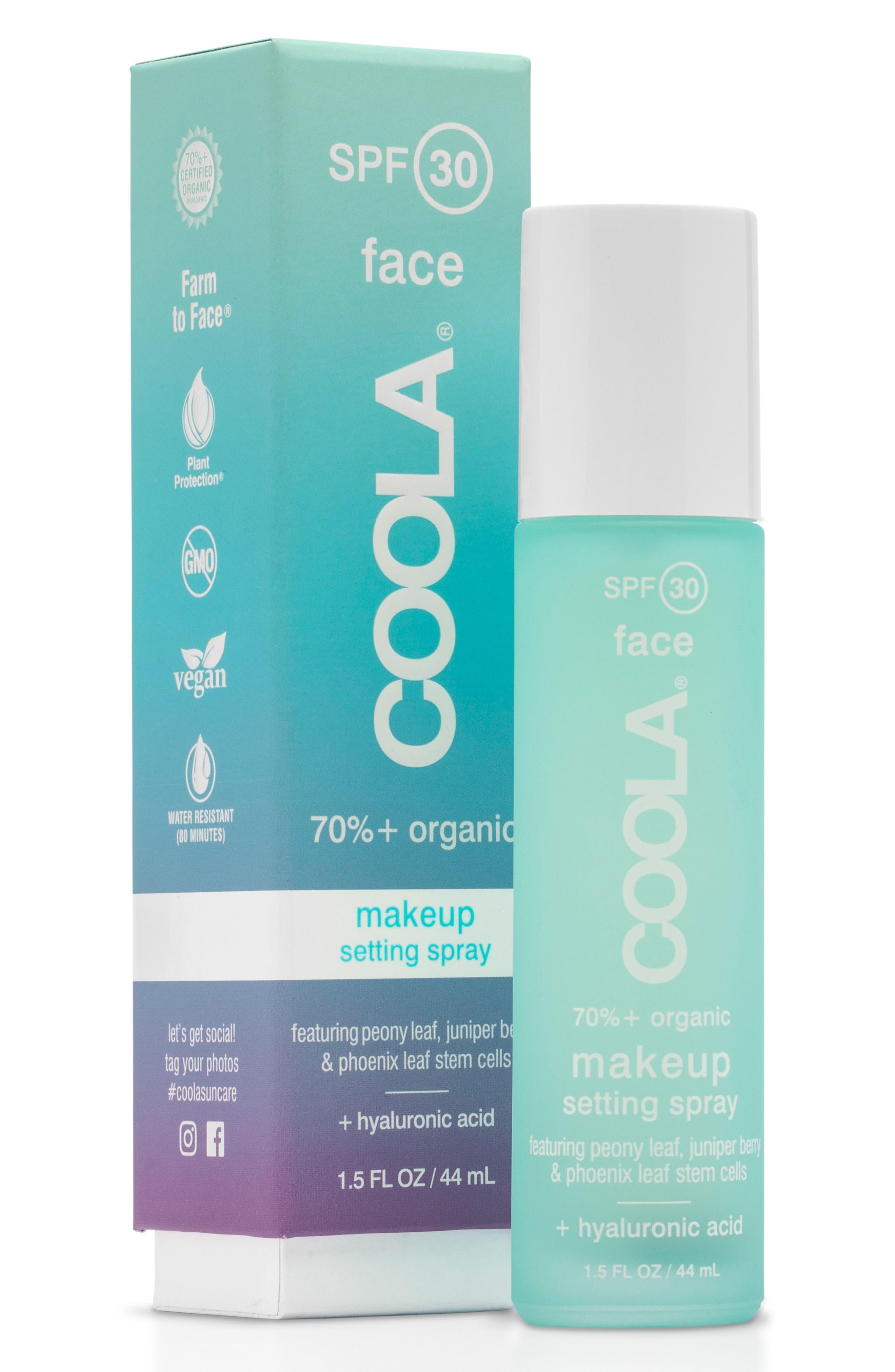 COOLA<sup>®</sup> Suncare Classic SPF 30 Makeup Setting Spray,                             Alternate thumbnail 2, color,                             No Color