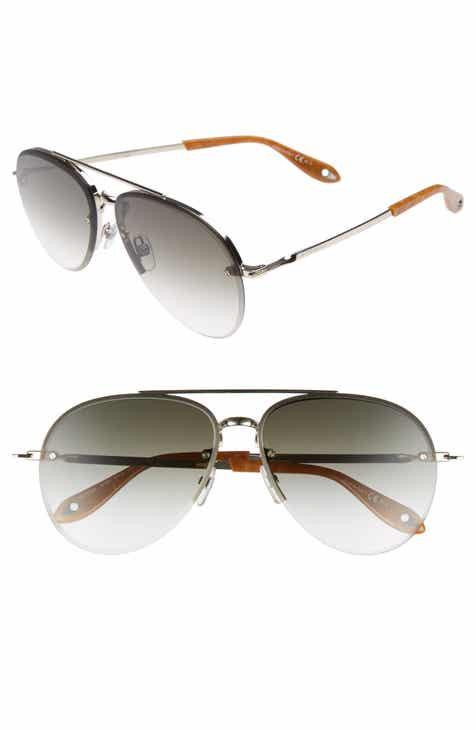 178104e47a4 Givenchy 62mm Aviator Sunglasses