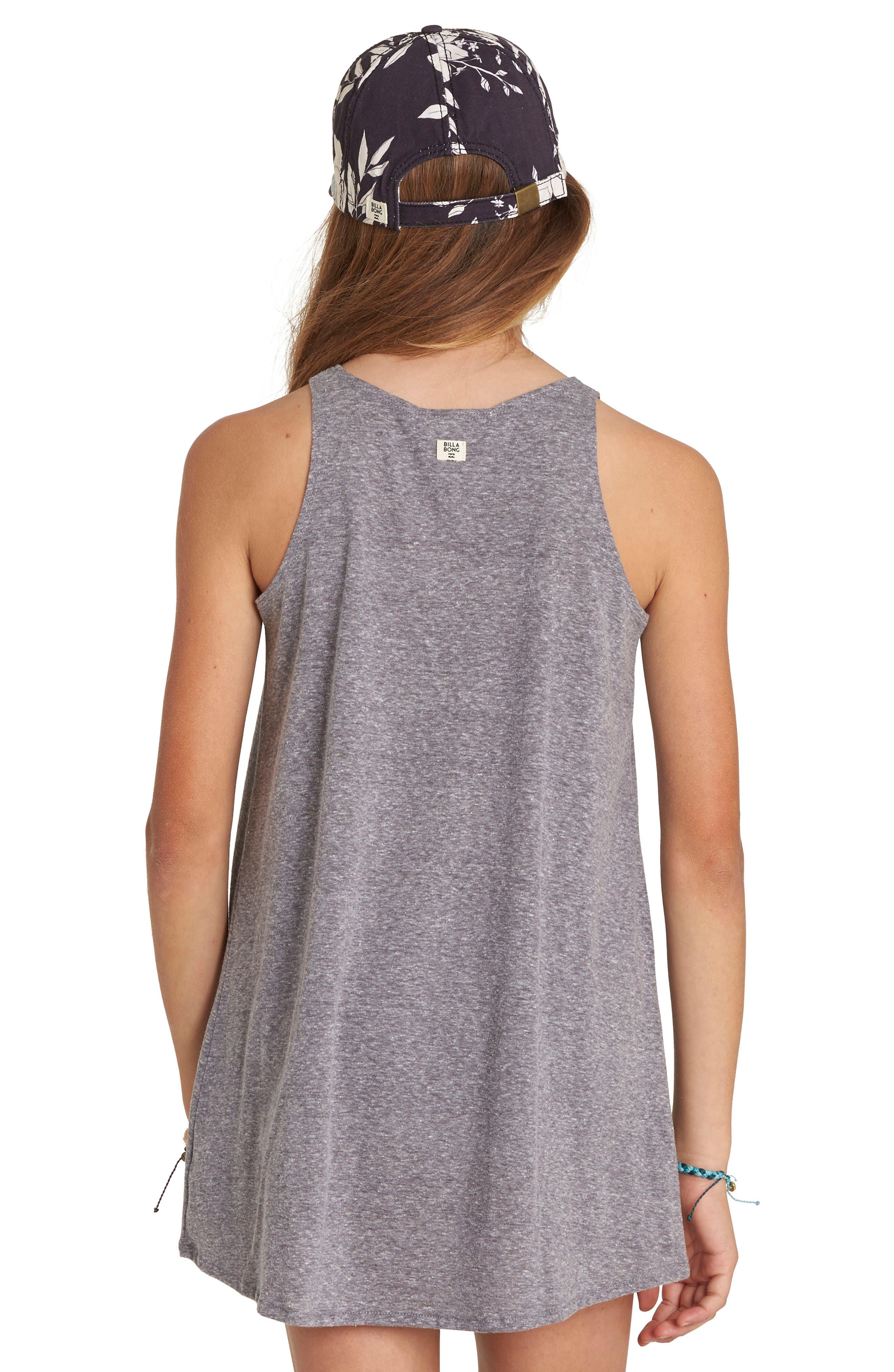 Choose You Graphic Tank Dress,                             Alternate thumbnail 2, color,                             Dark Athletic Grey