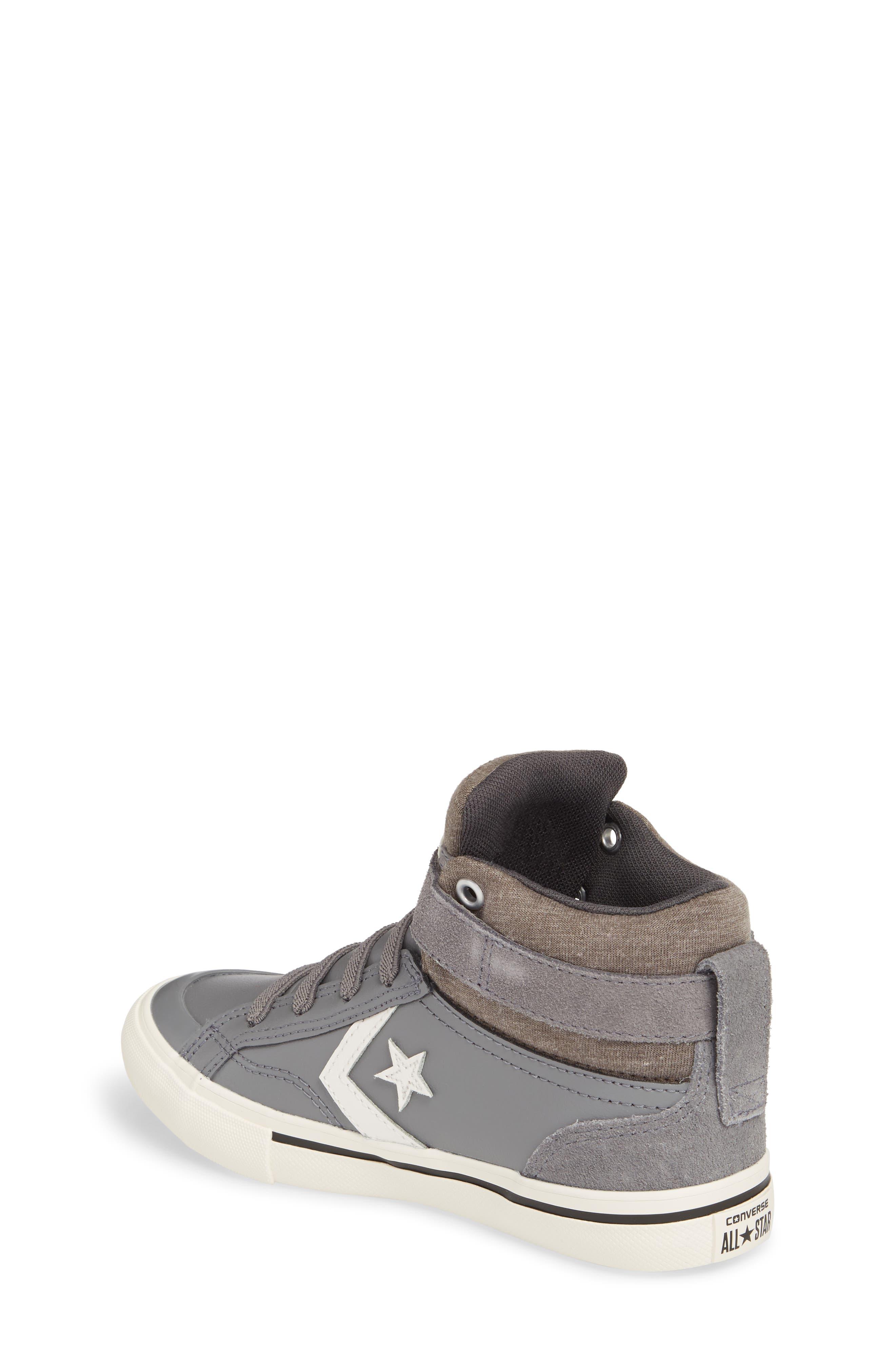 Pro Blaze High Top Sneaker,                             Alternate thumbnail 2, color,                             Mason Leather
