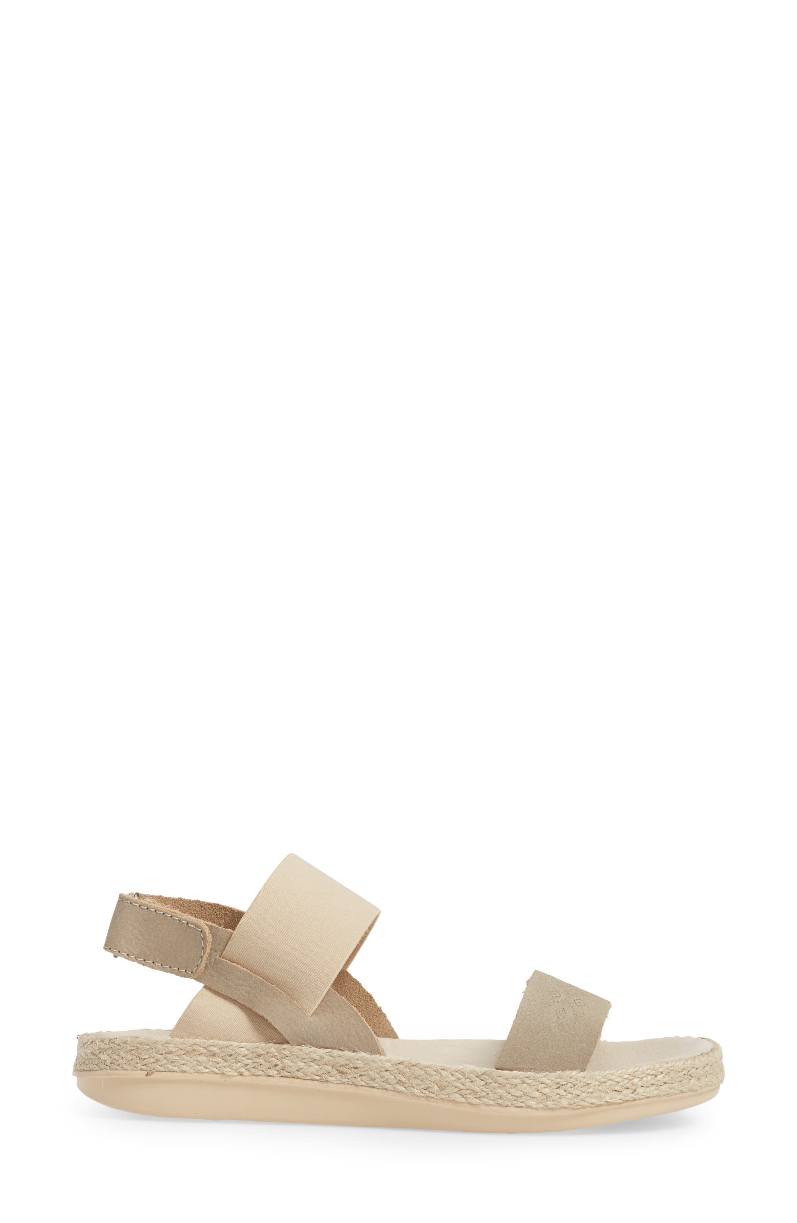 Tobermory Sandal,                             Alternate thumbnail 3, color,                             Taupe Leather
