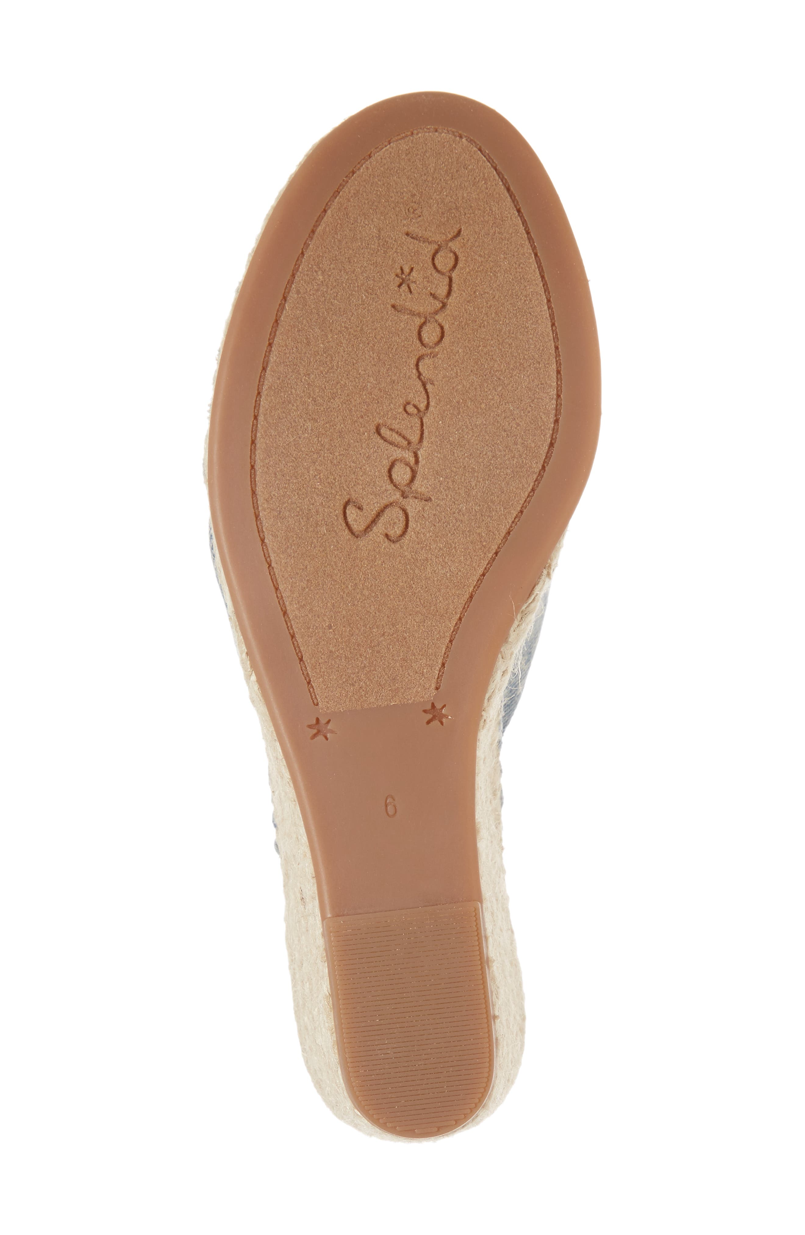 Alternate Image 6  - Splendid Bautista Knotted Wedge Sandal (Women)