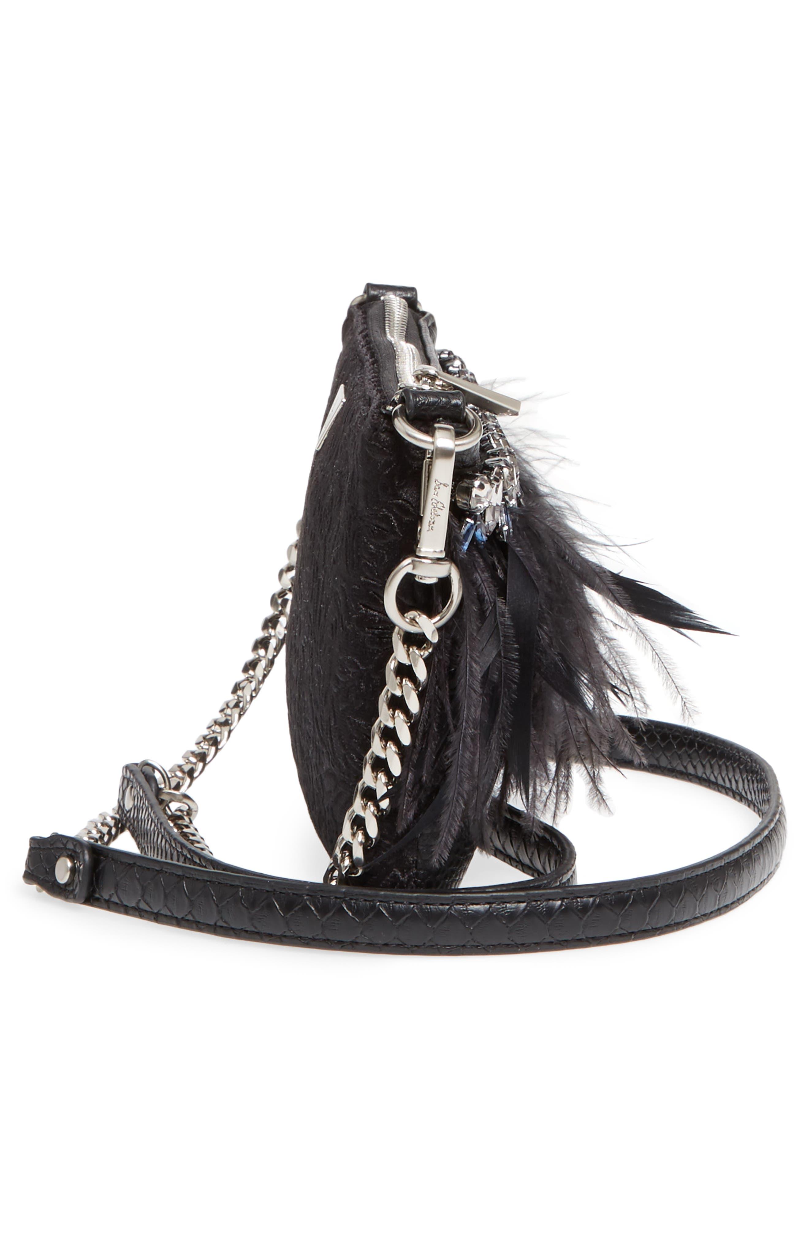 Alternate Image 5  - Sam Edelman Carrina Faux Leather Convertible Clutch
