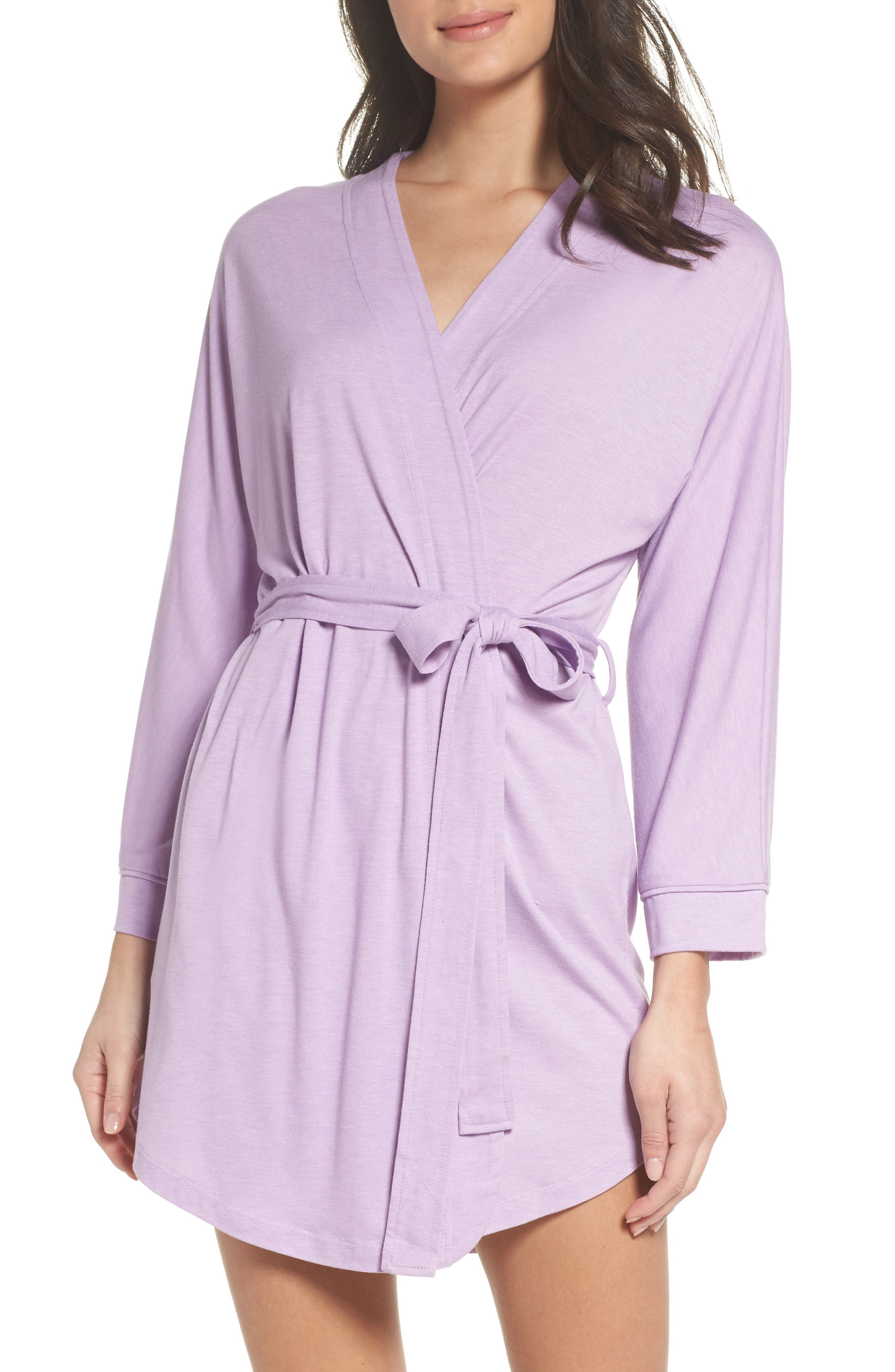 Alternate Image 1 Selected - Honeydew Intimates All American Jersey Robe (2 for $60)