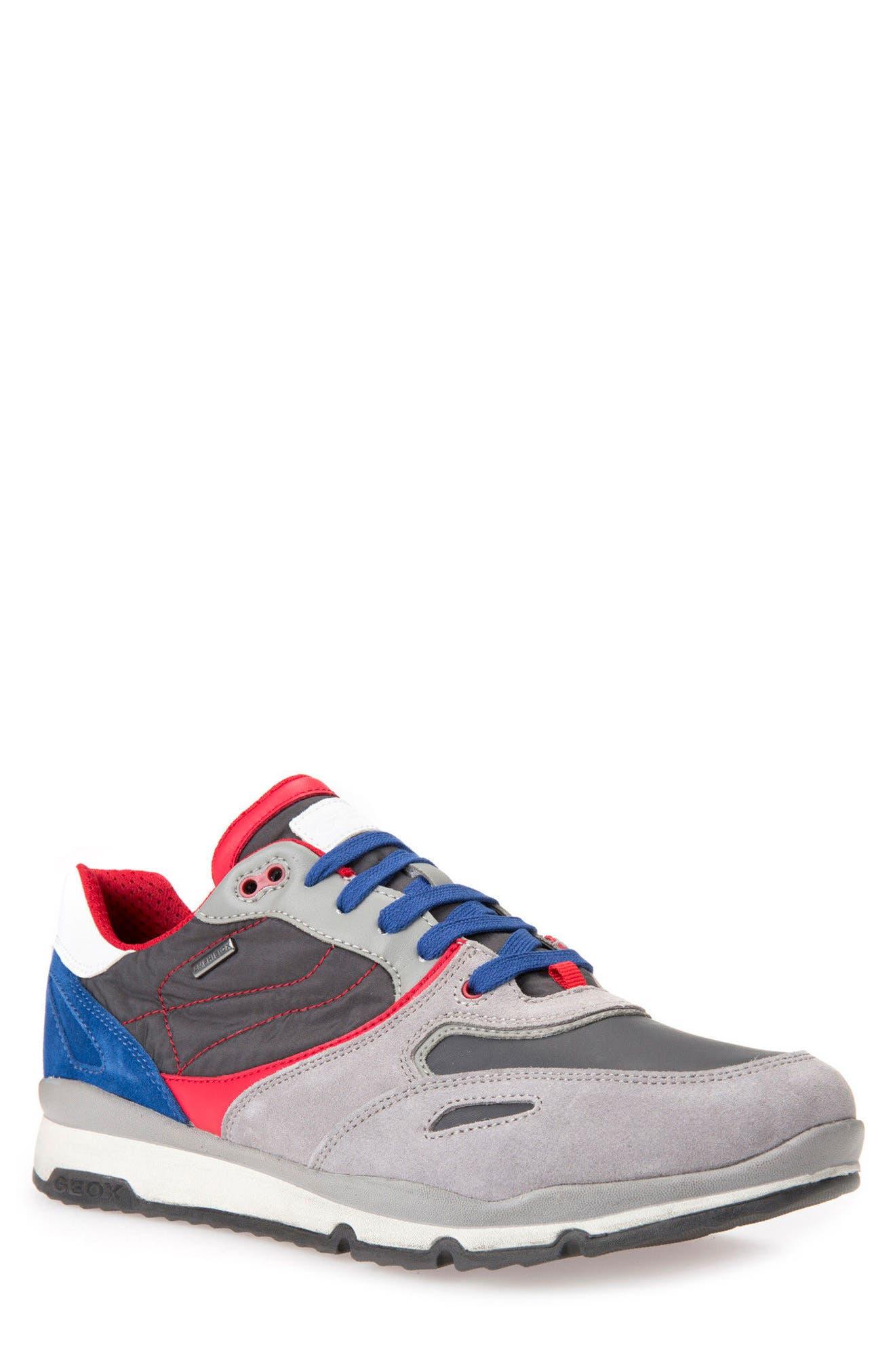 Alternate Image 1 Selected - Geox Sandro ABX Ambphibiox Waterproof Sneaker (Men)