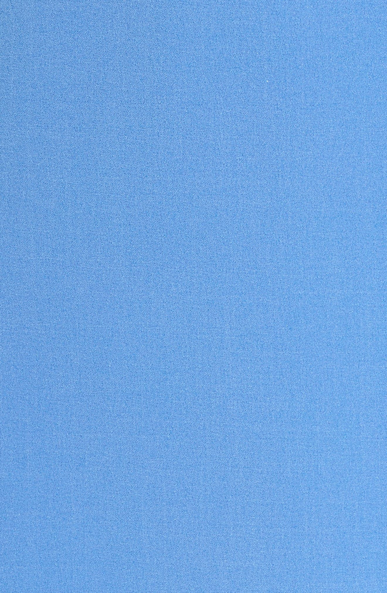 Ruffle Shift Dress,                             Alternate thumbnail 5, color,                             Blue Azurite