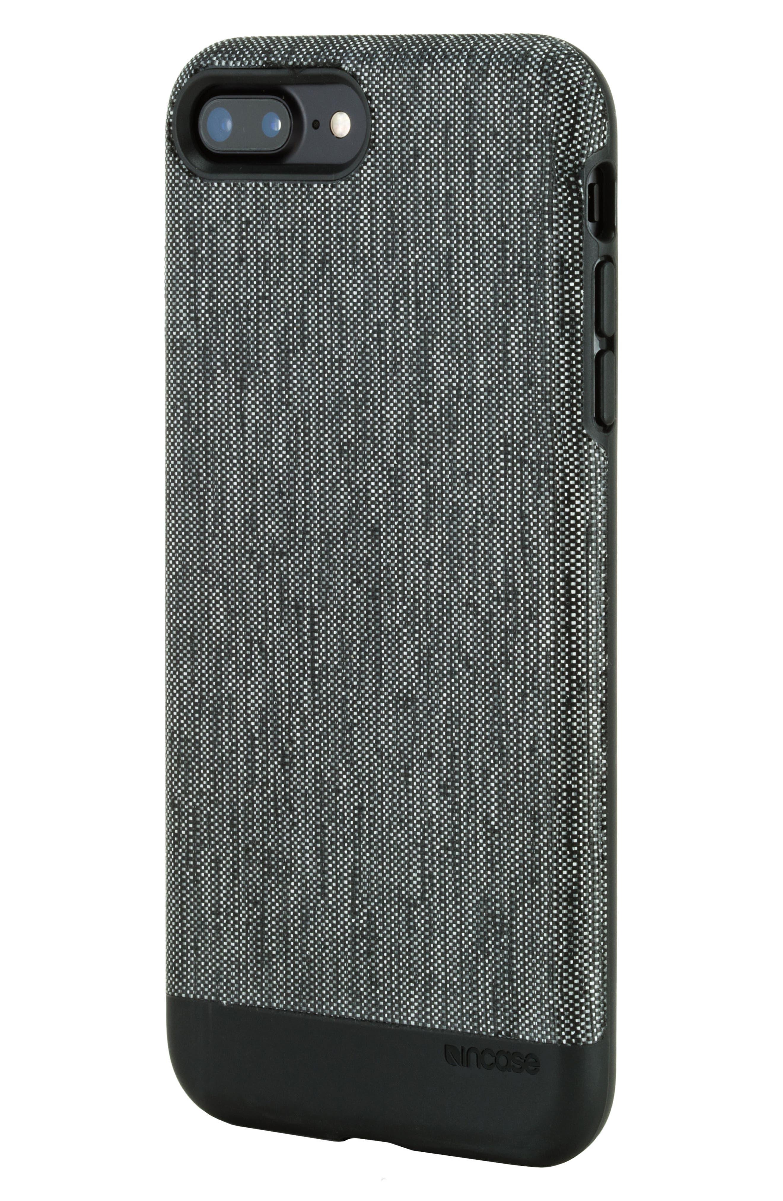 iPhone 7 Plus/8 Plus Case,                             Alternate thumbnail 2, color,                             Black Diamond Ripstop