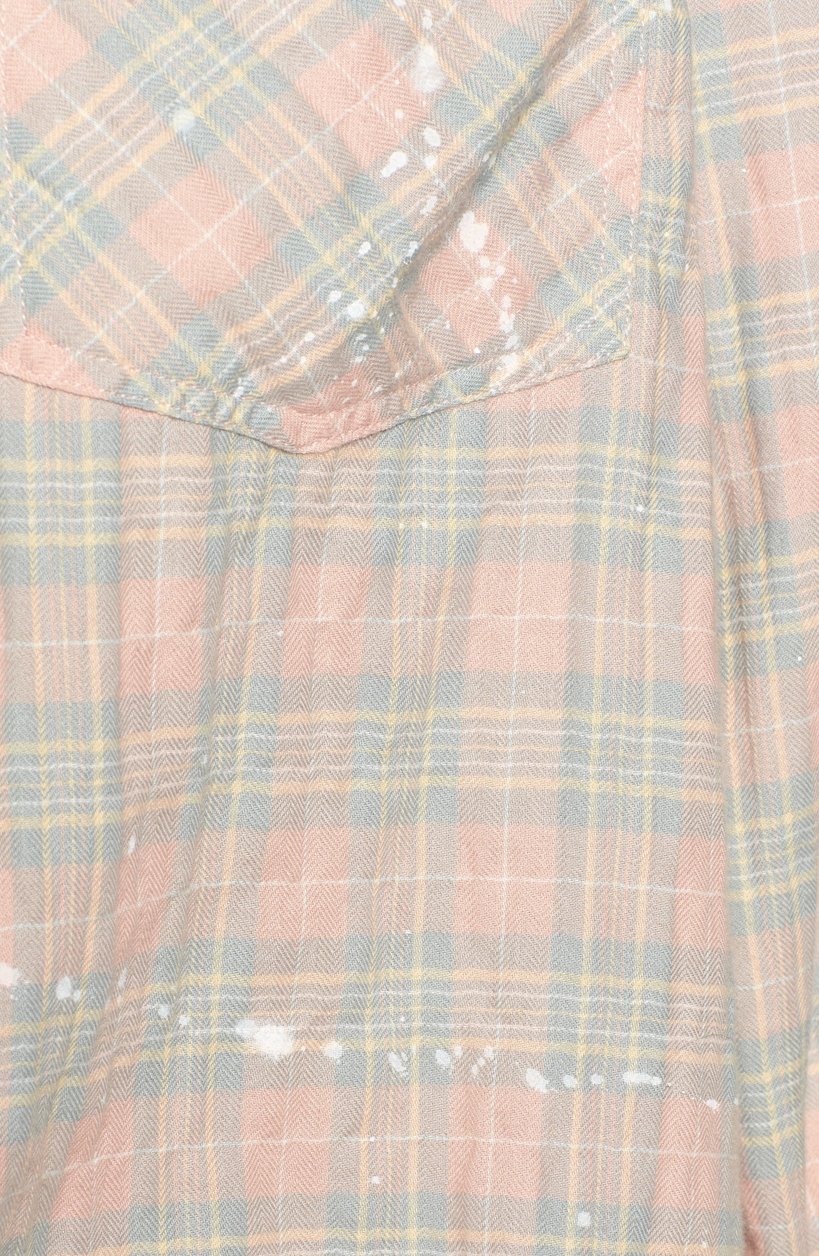 The Ivie Plaid Shirt,                             Alternate thumbnail 5, color,                             Sunshine Plaid