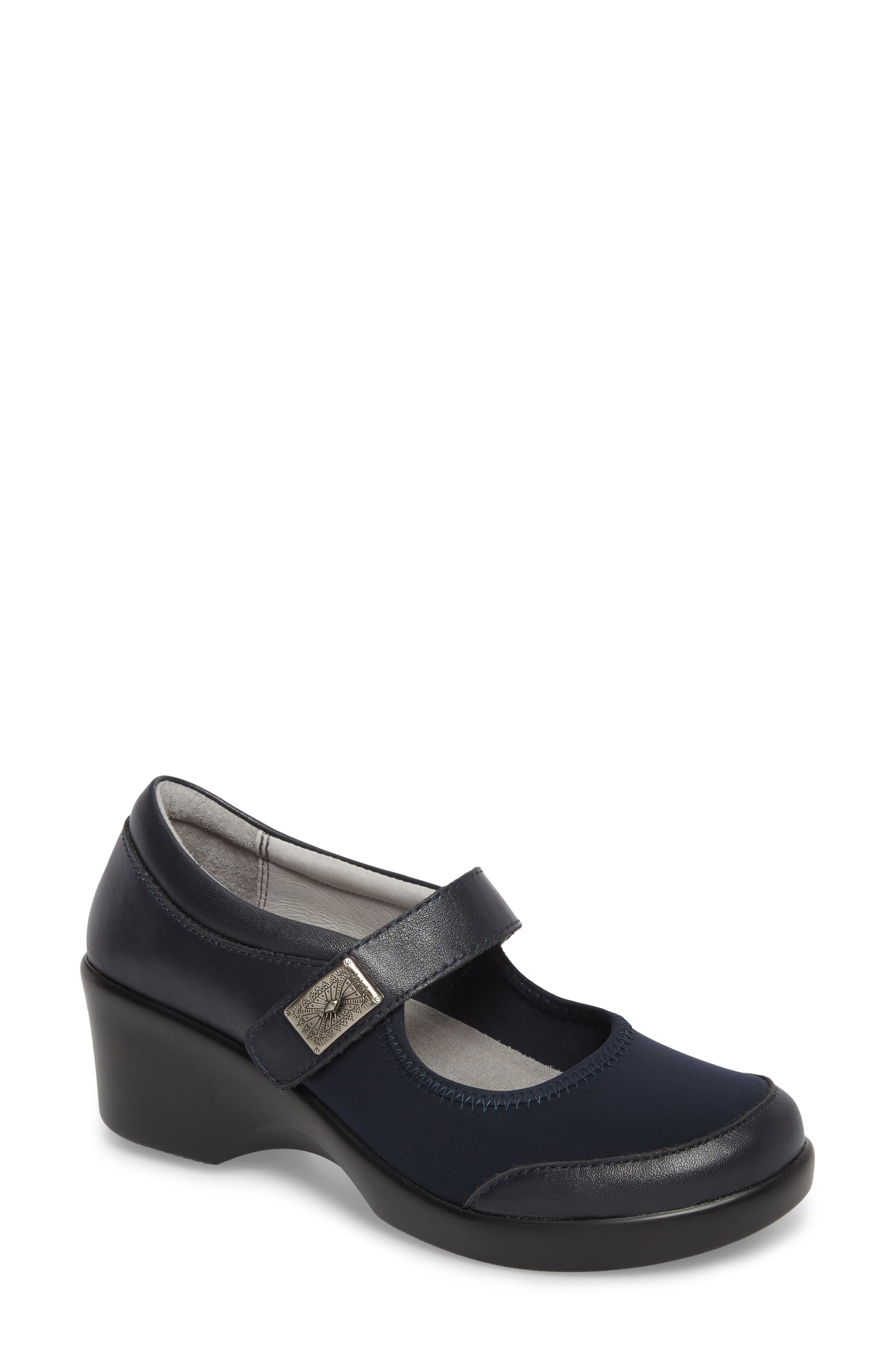 by PG Lite Maya Mary Jane Pump,                             Main thumbnail 1, color,                             Slate Leather