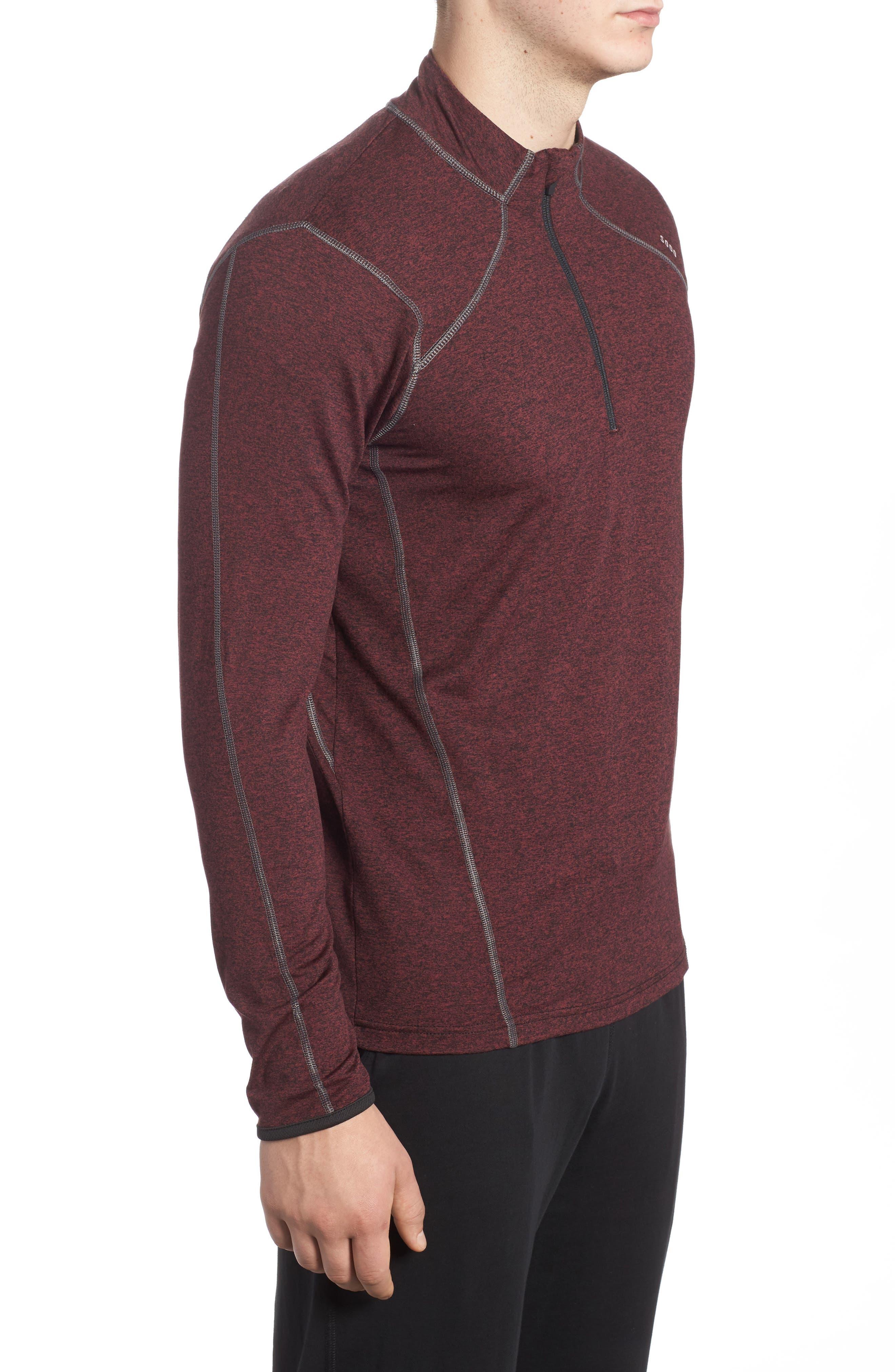 Alternate Image 4  - SODO 'Elevate' Moisture Wicking Stretch Quarter Zip Pullover