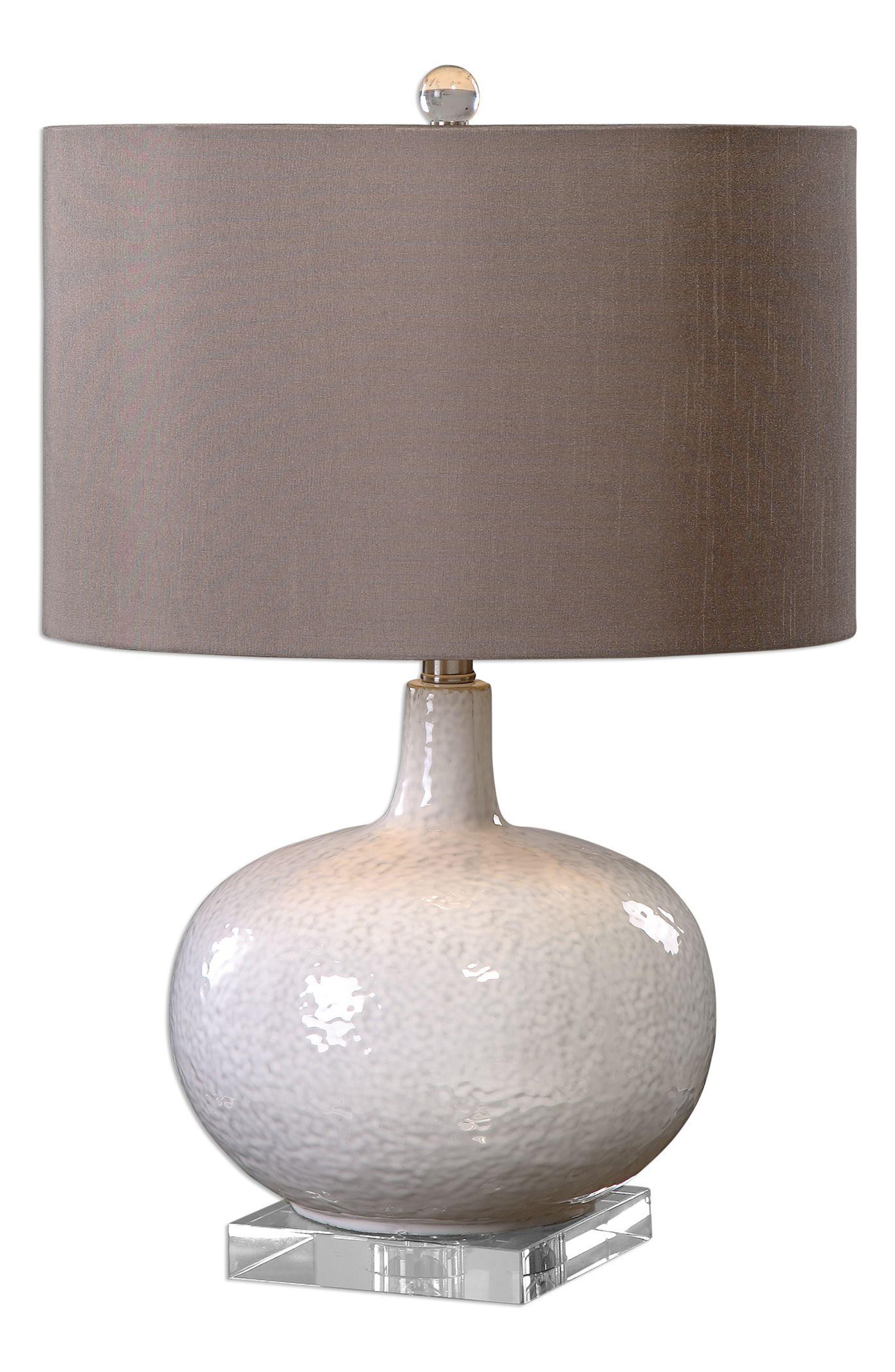 Parvati Table Lamp,                             Main thumbnail 1, color,                             White
