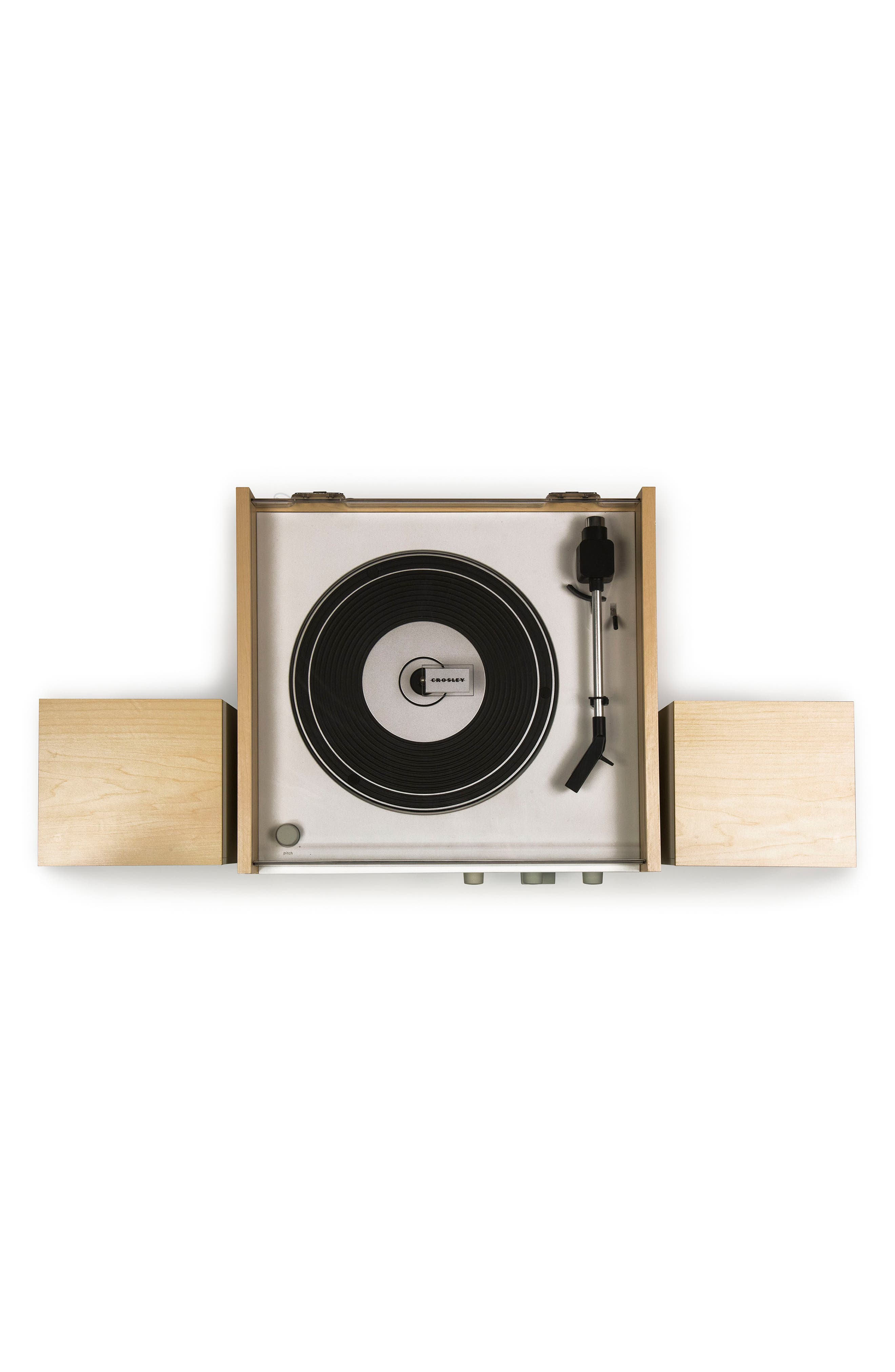 Switch II Turntable & Speakers Entertainment System,                             Alternate thumbnail 2, color,                             Natural