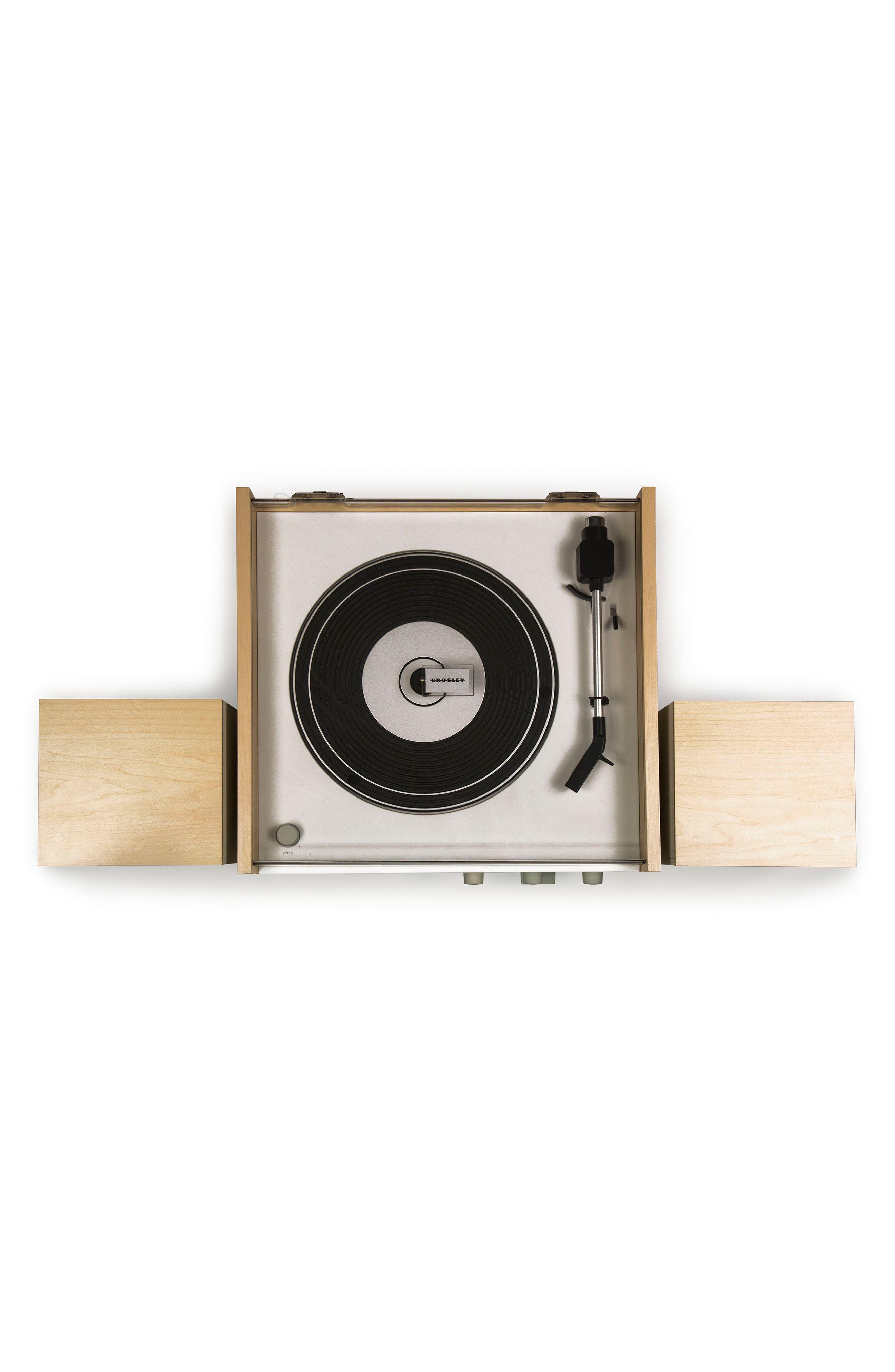 Alternate Image 2  - Crosley Radio Switch II Turntable & Speakers Entertainment System