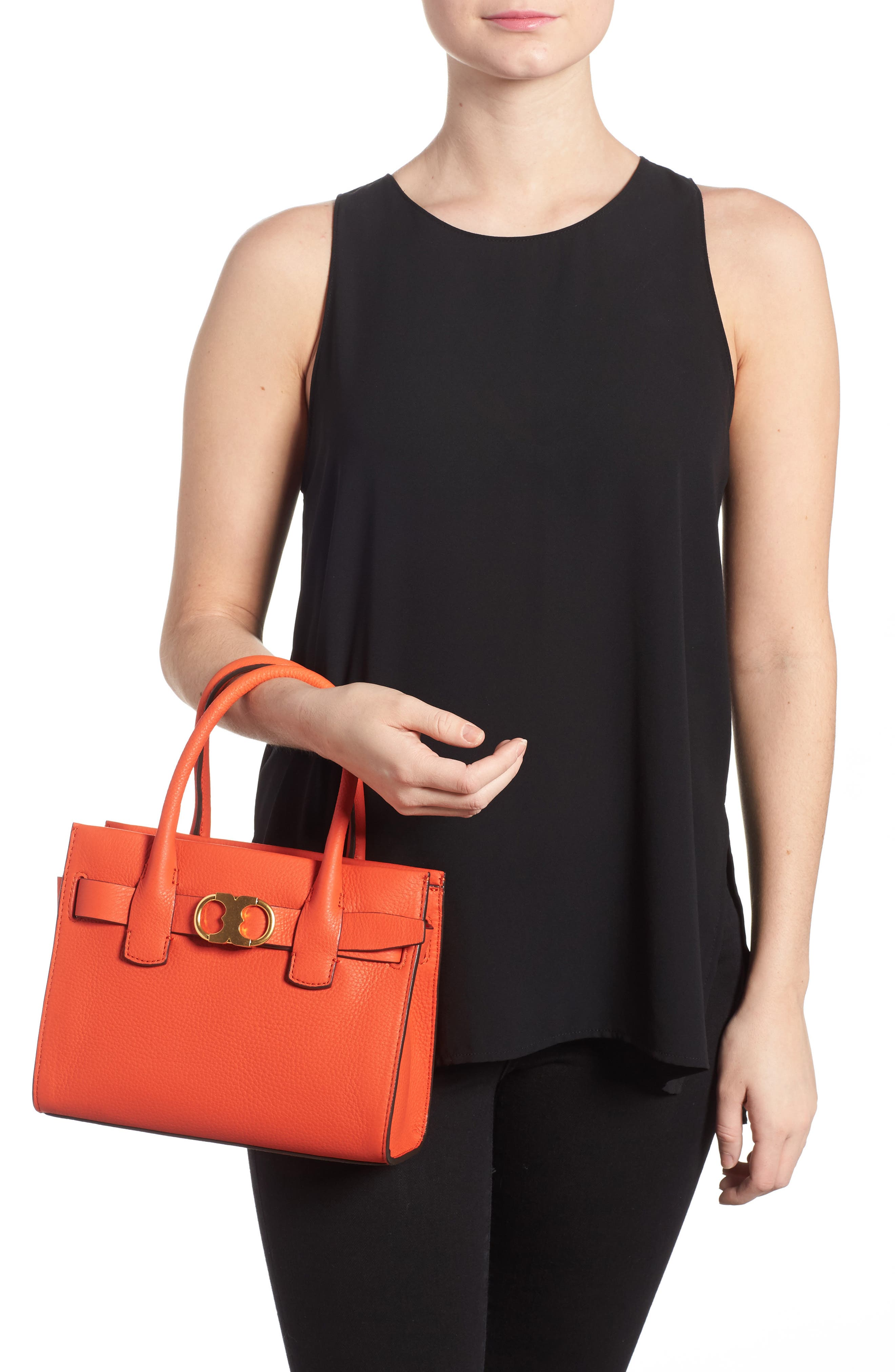 Alternate Image 2  - Tory Burch Small Gemini Link Leather Tote