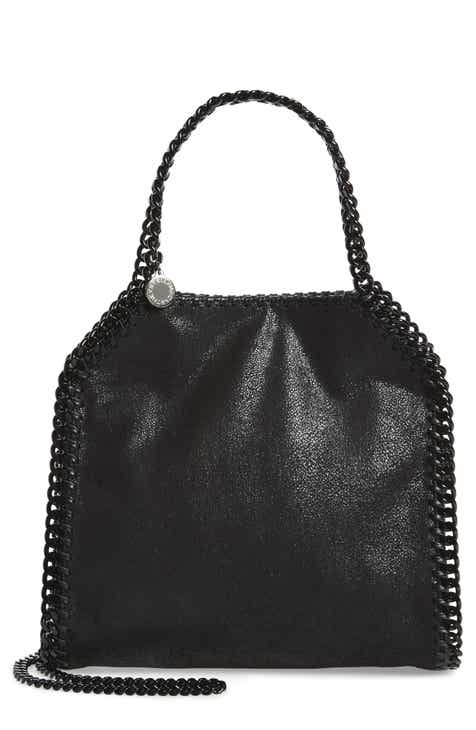 Stella Mccartney Mini Falabella Gy Deer Faux Leather Tote