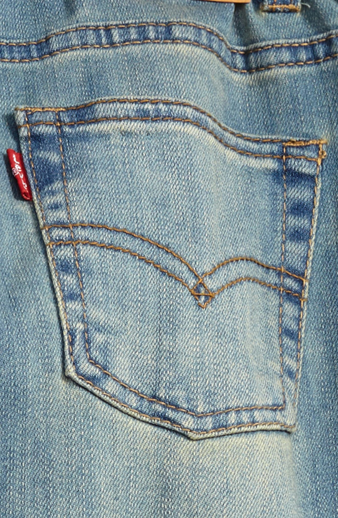 Alternate Image 3  - Levi's® Comfort Slim Fit Jeans (Toddler Boys & Little Boys)