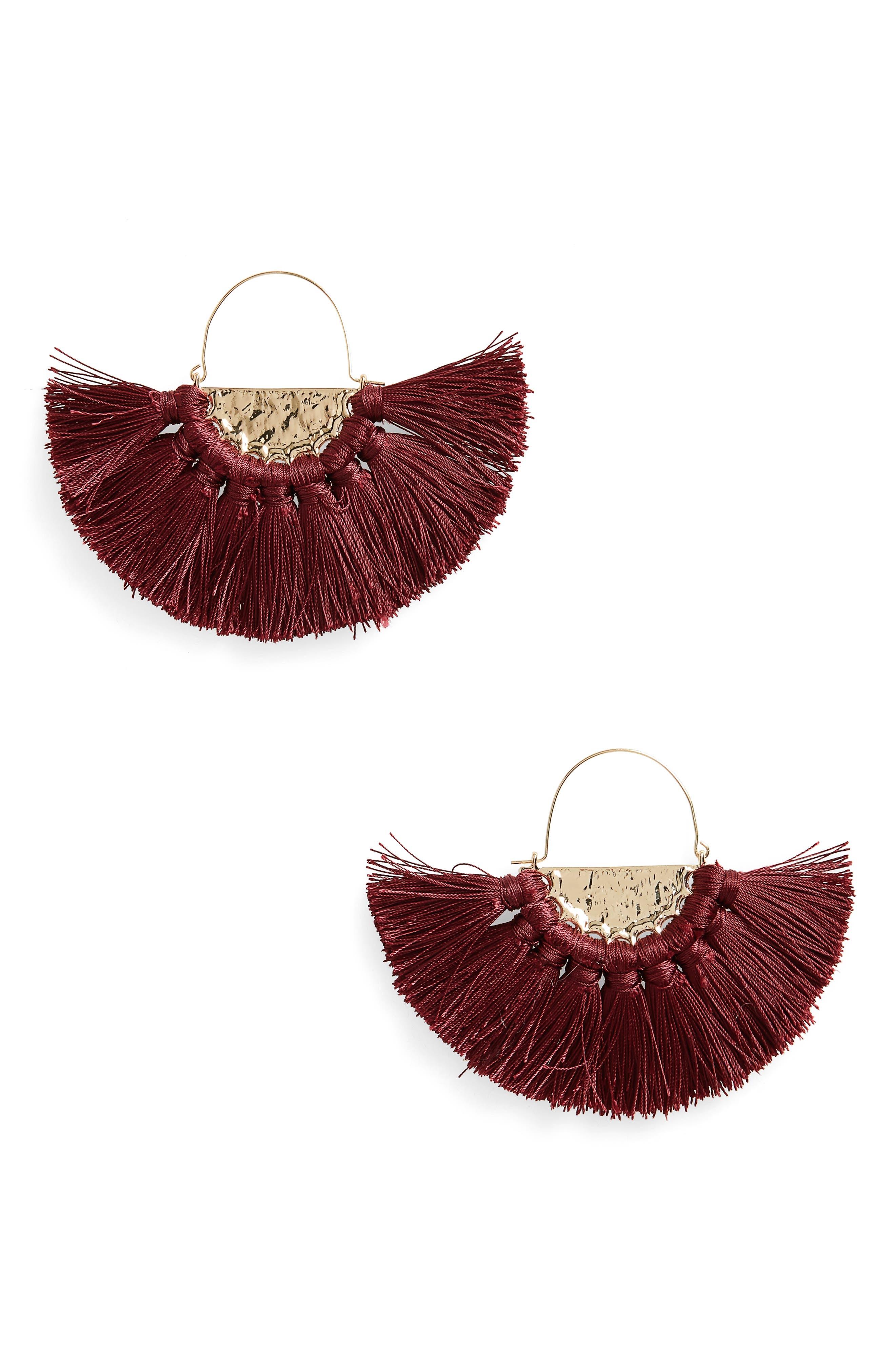 BP. Oversize Fan Earrings