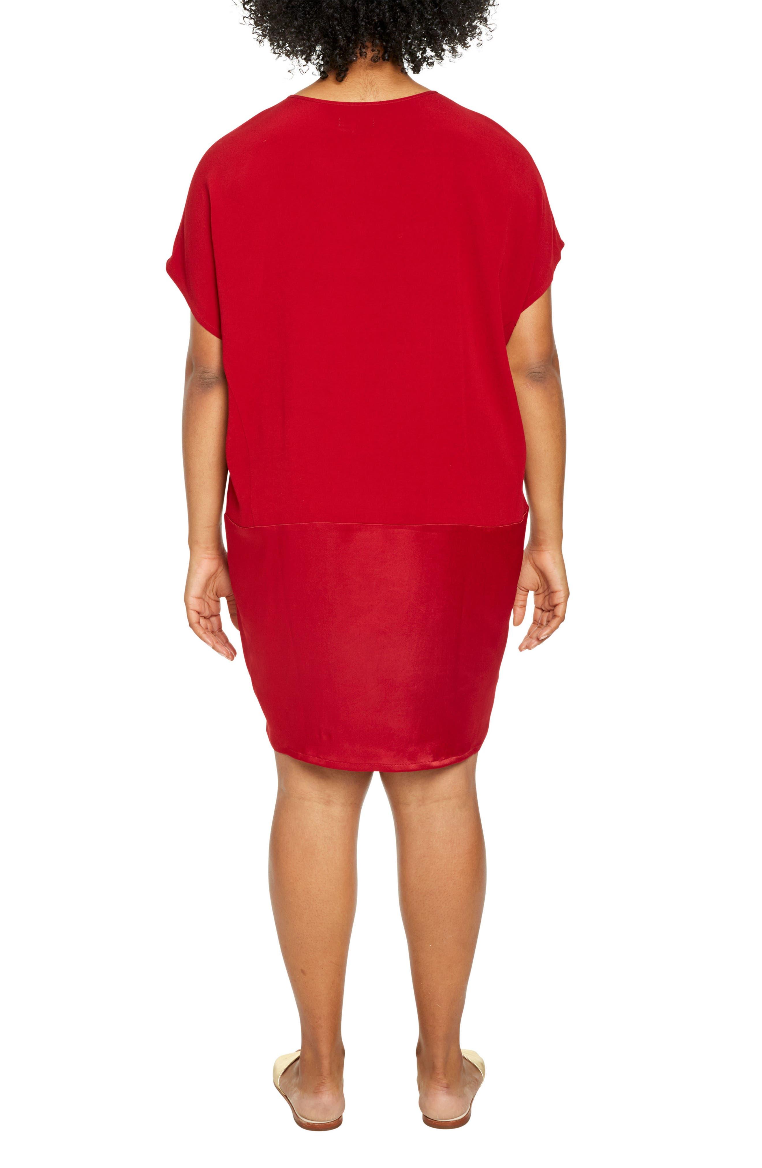 Alternate Image 2  - UNIVERSAL STANDARD Avenir Drop Waist Dress (Plus Size)