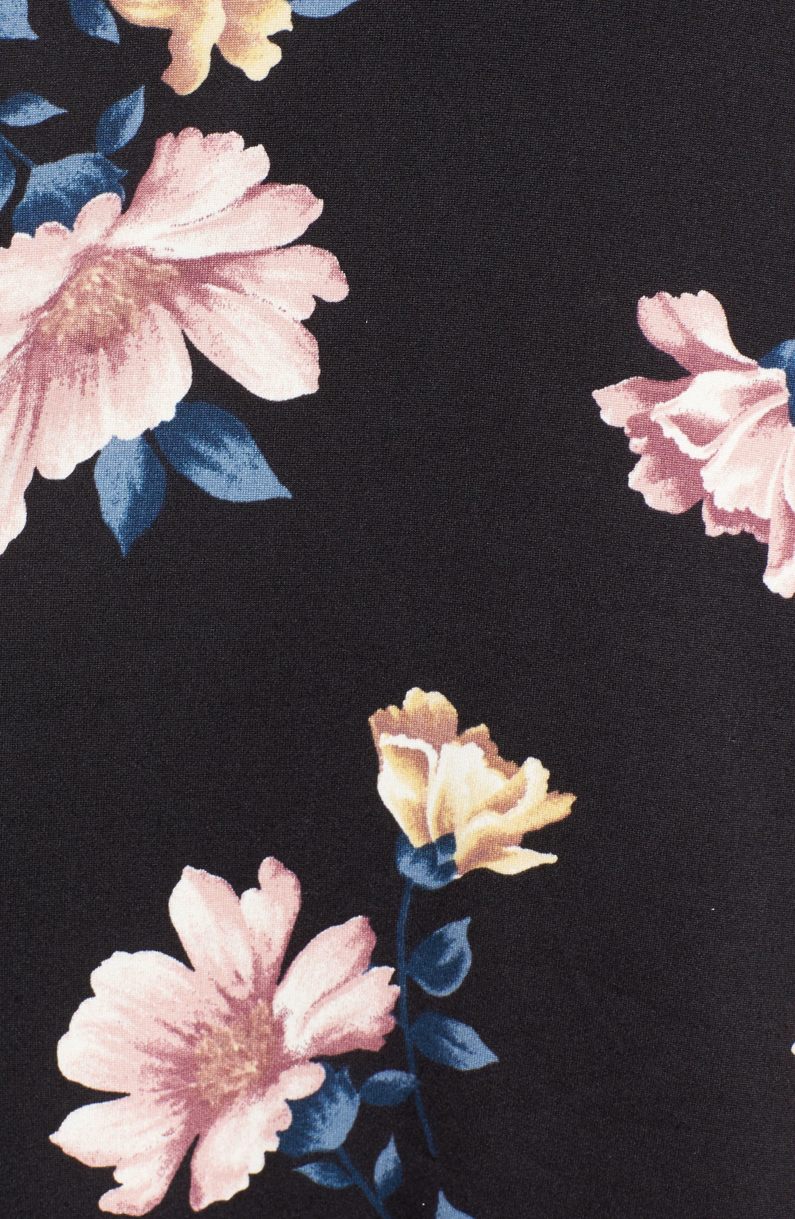 Alternate Image 5  - Socialite Bell Sleeve Knit Dress