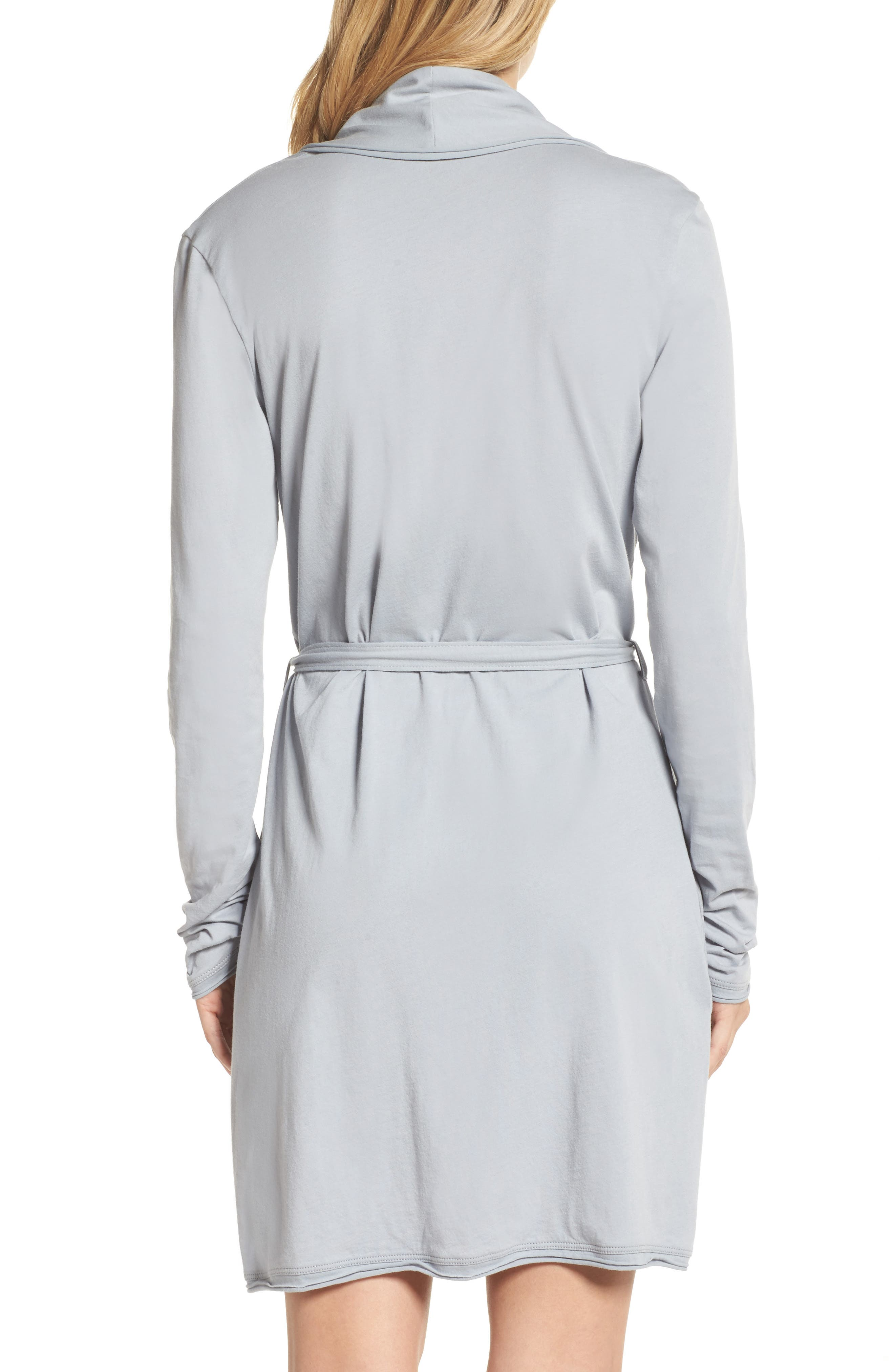 Alternate Image 2  - skin Coco Short Robe
