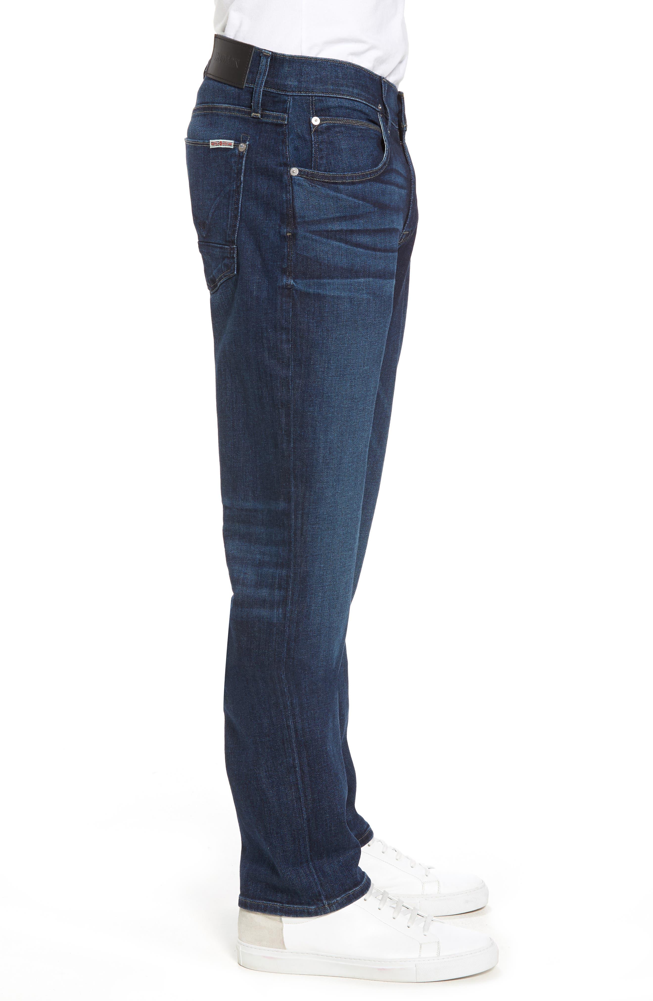 Alternate Image 3  - Hudson Jeans Byron Slim Straight Fit Jeans (Draper)