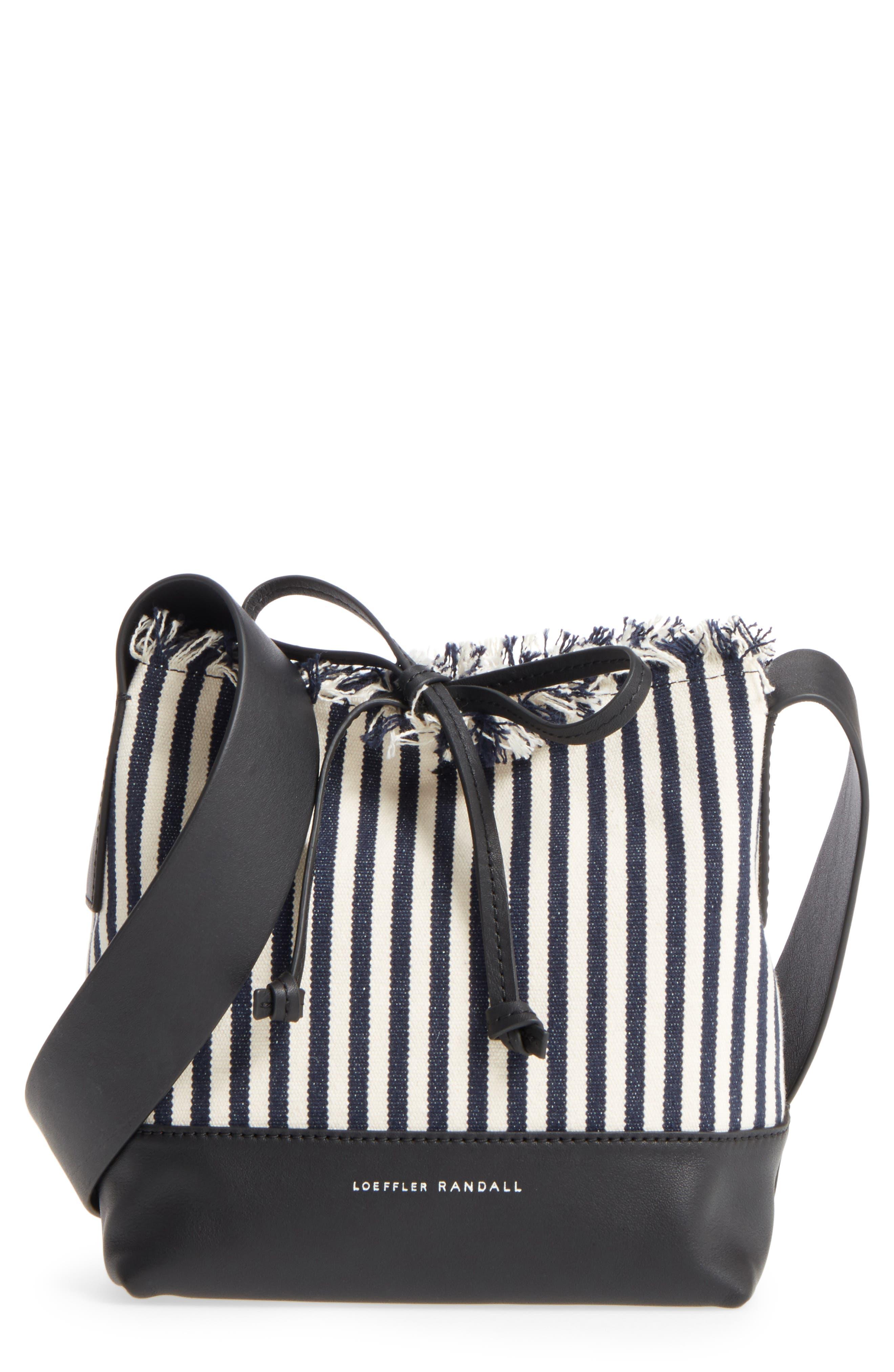 Loeffler Randall Crossbody Bucket Bag