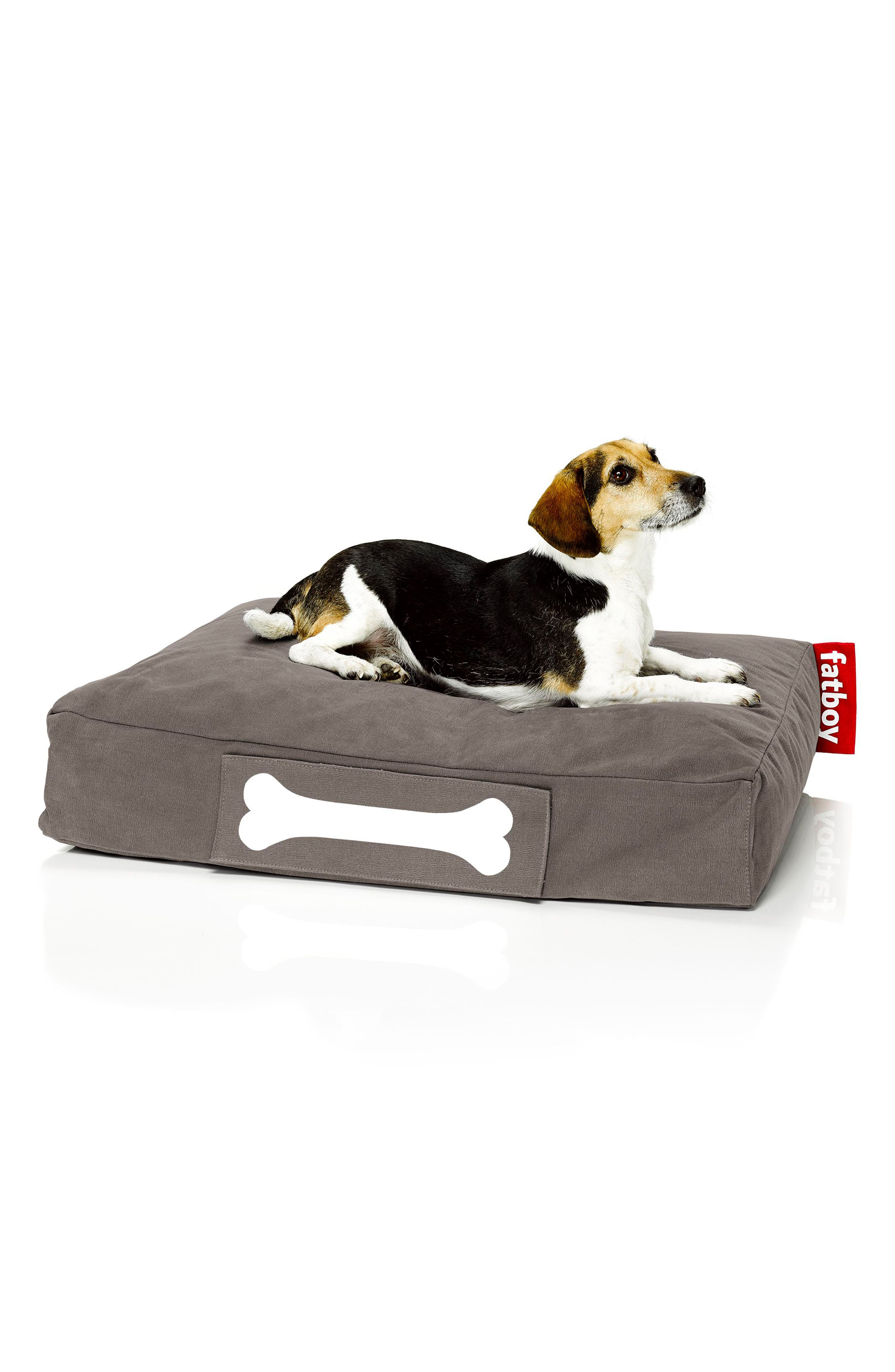 Doggielounge - Stonewashed Pet Bed,                             Alternate thumbnail 4, color,                             Taupe