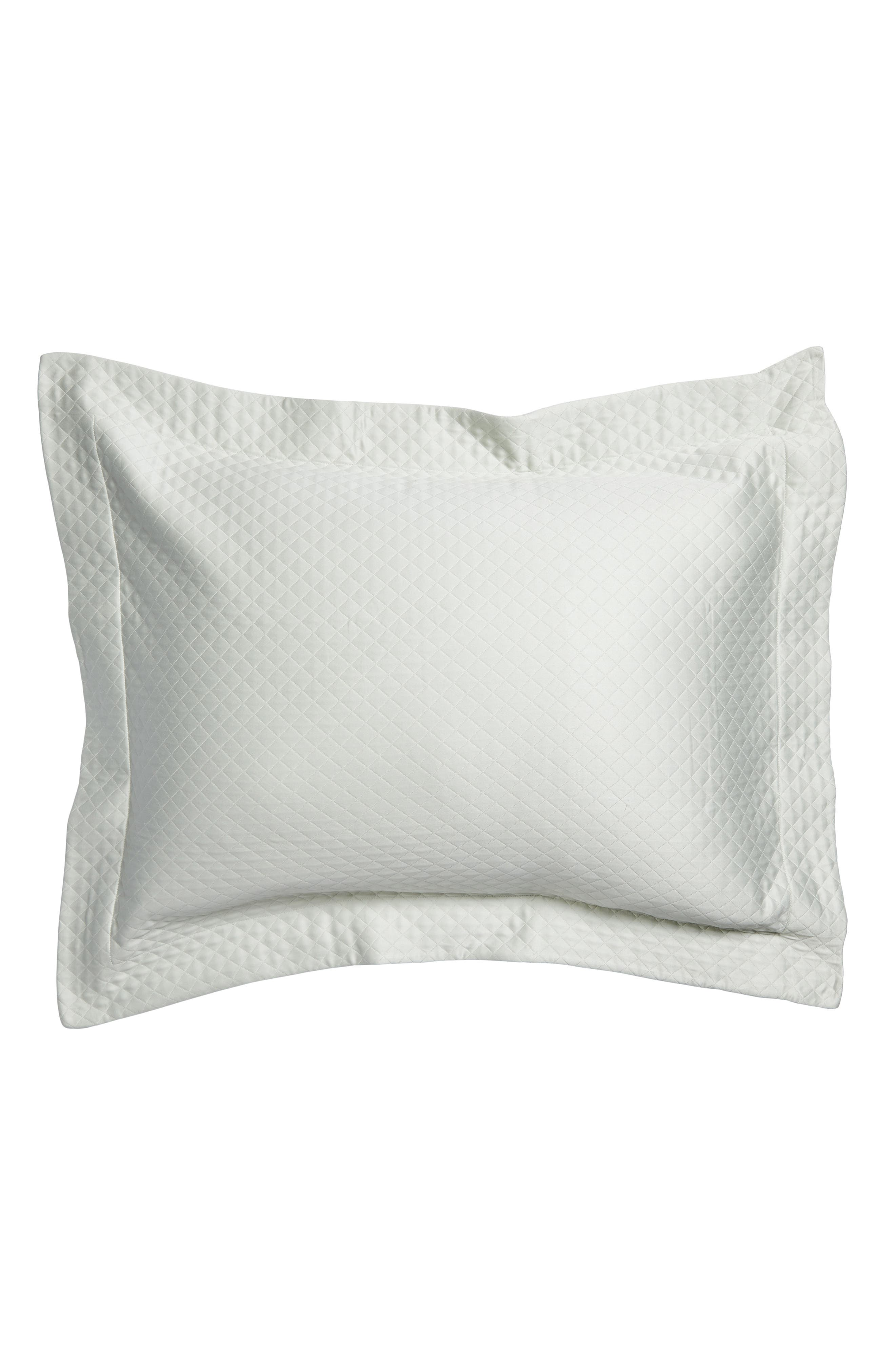 Bari Cotton Sham,                         Main,                         color, Silversage