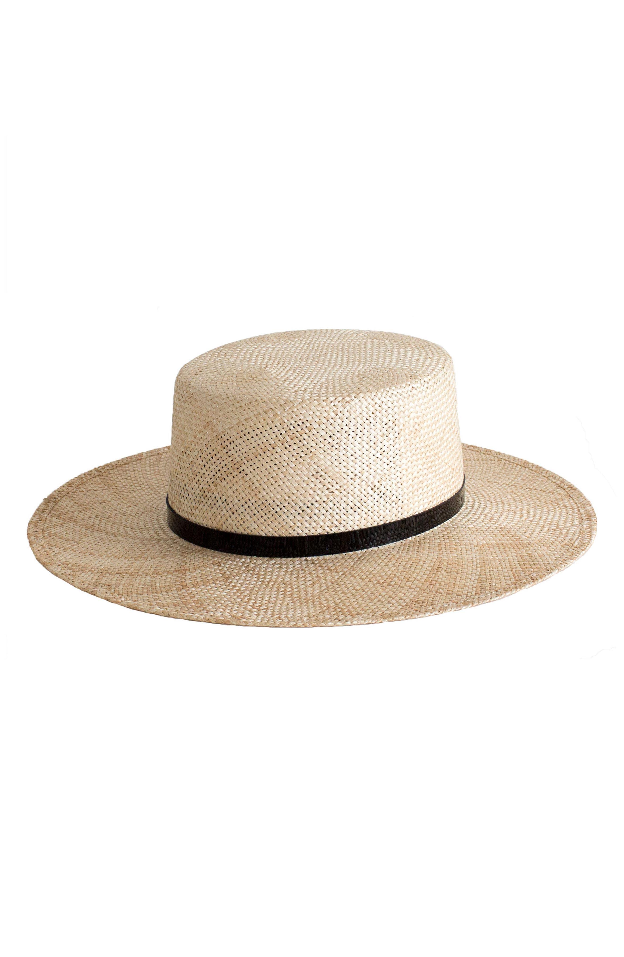 Janessa Leone Mason Straw Hat