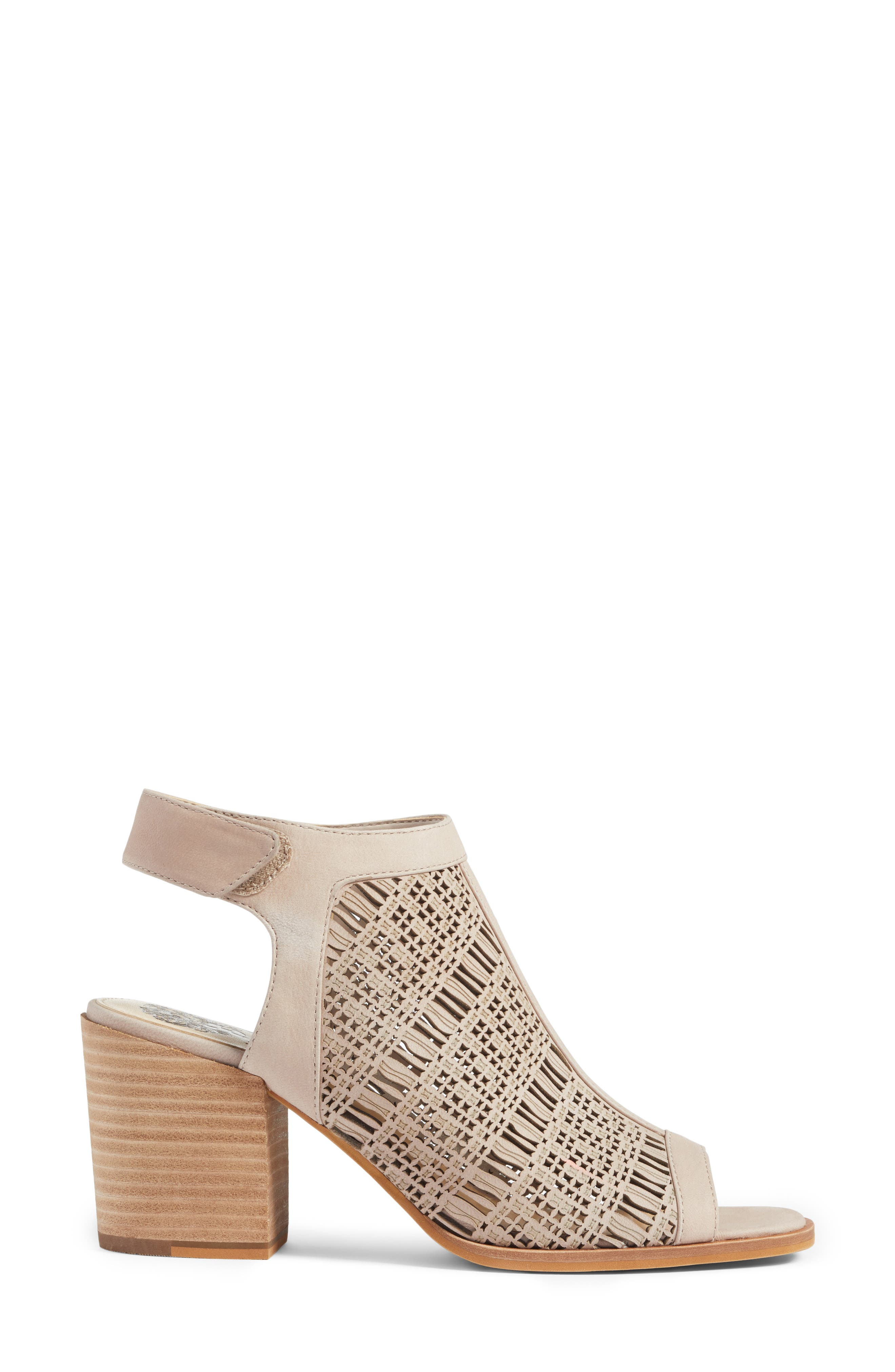 Keannie Sandal,                             Alternate thumbnail 3, color,                             Tipsy Taupe Nubuck Leather
