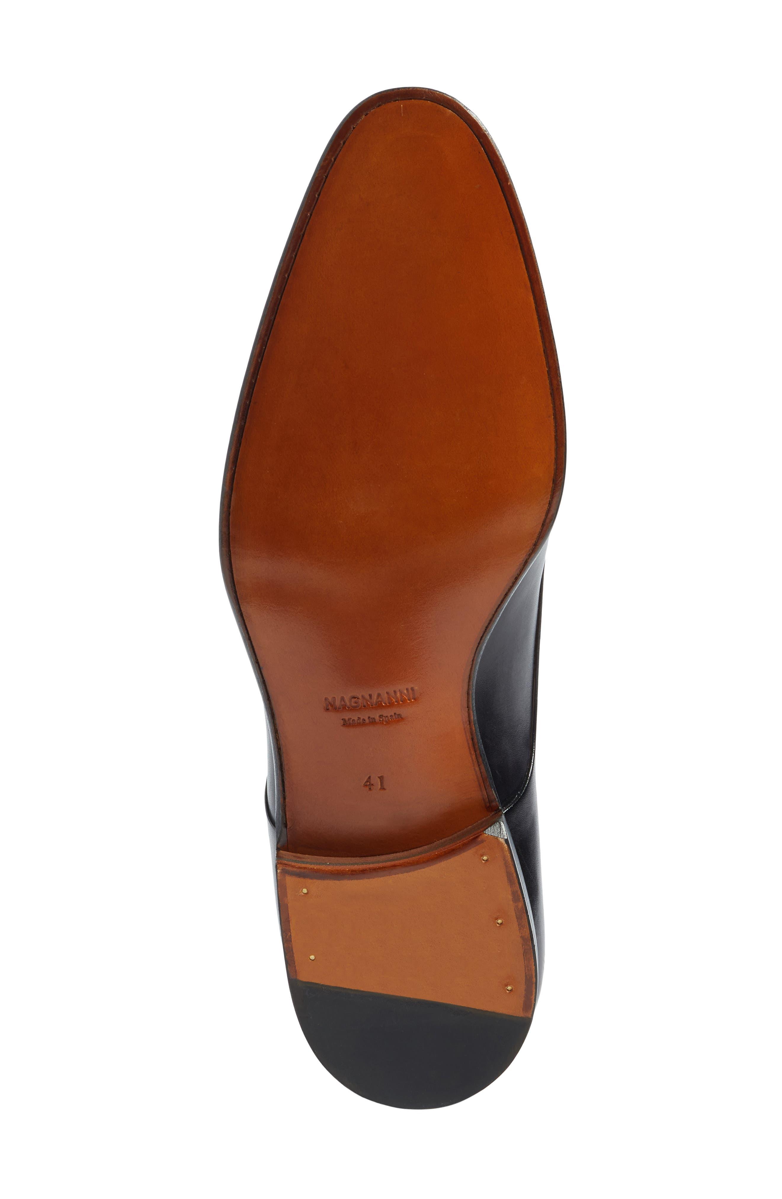 Lucio Double Strap Monk Shoe,                             Alternate thumbnail 6, color,                             Light Grey Leather